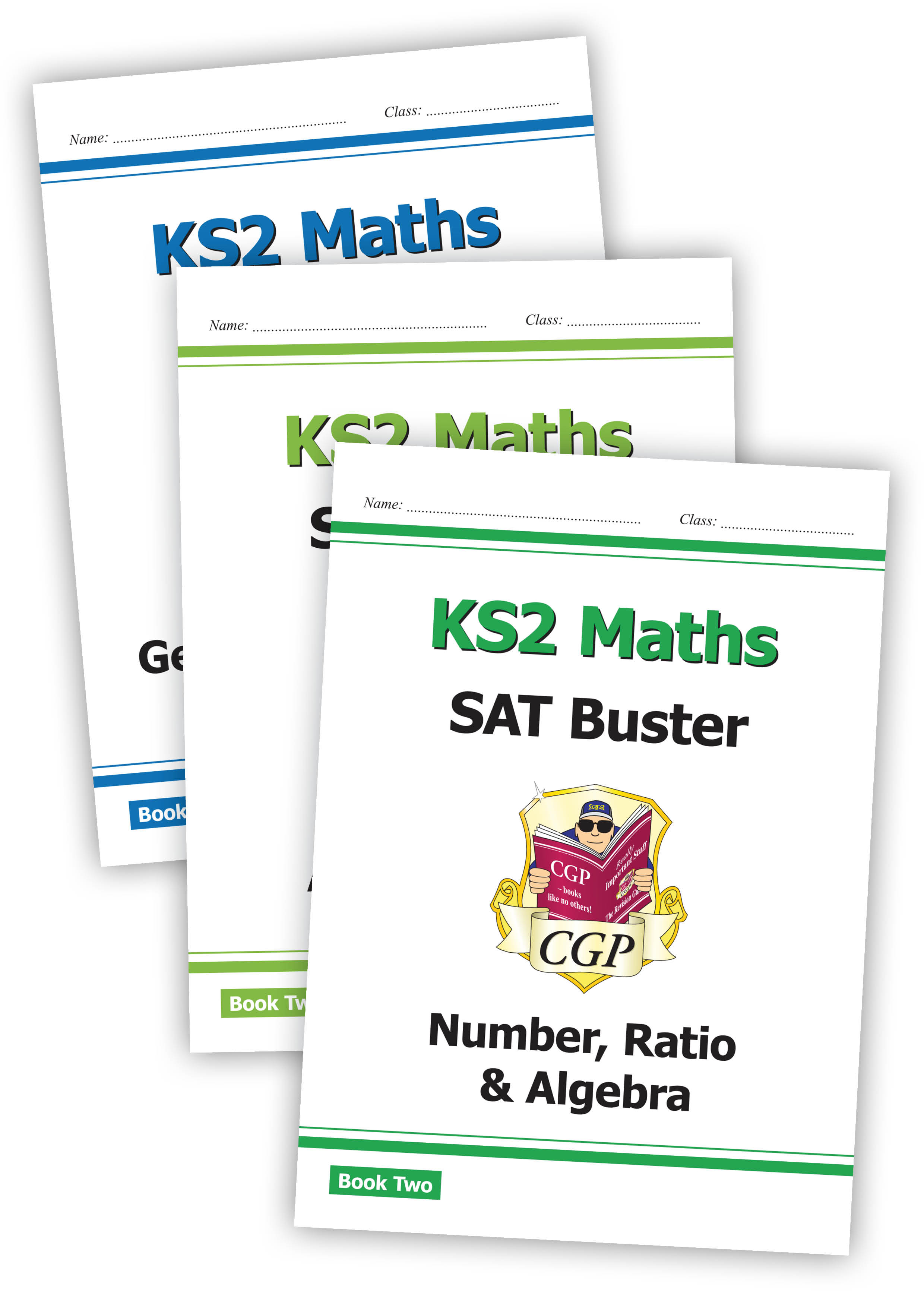 M6SBB221 - New Complete KS2 Maths SAT Buster Book 2 Bundle - incl answers (for the 2019 tests)