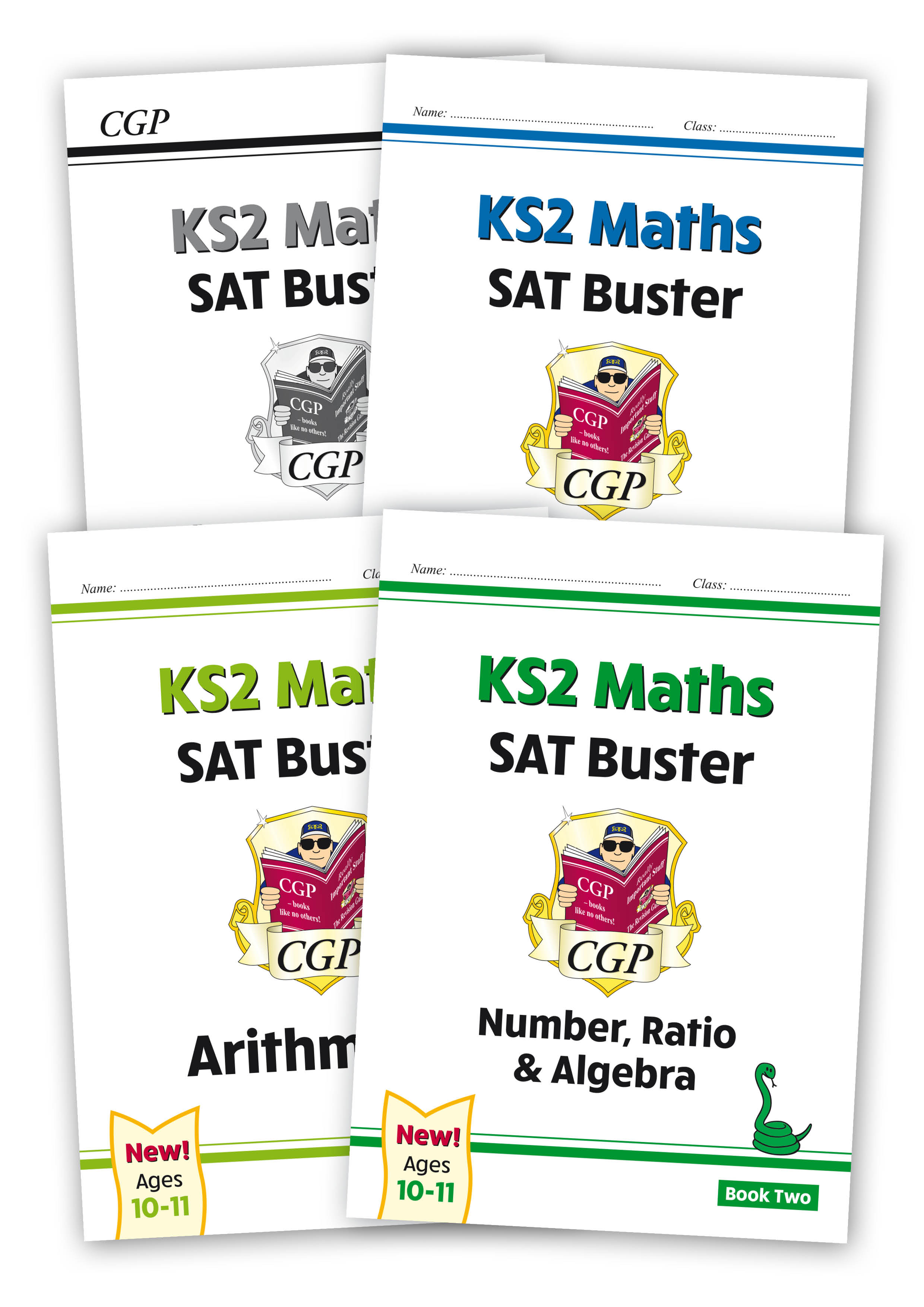 M6SBB222 - New KS2 Maths SAT Buster Book 2 Bundle - includes answers (for the 2021 tests)