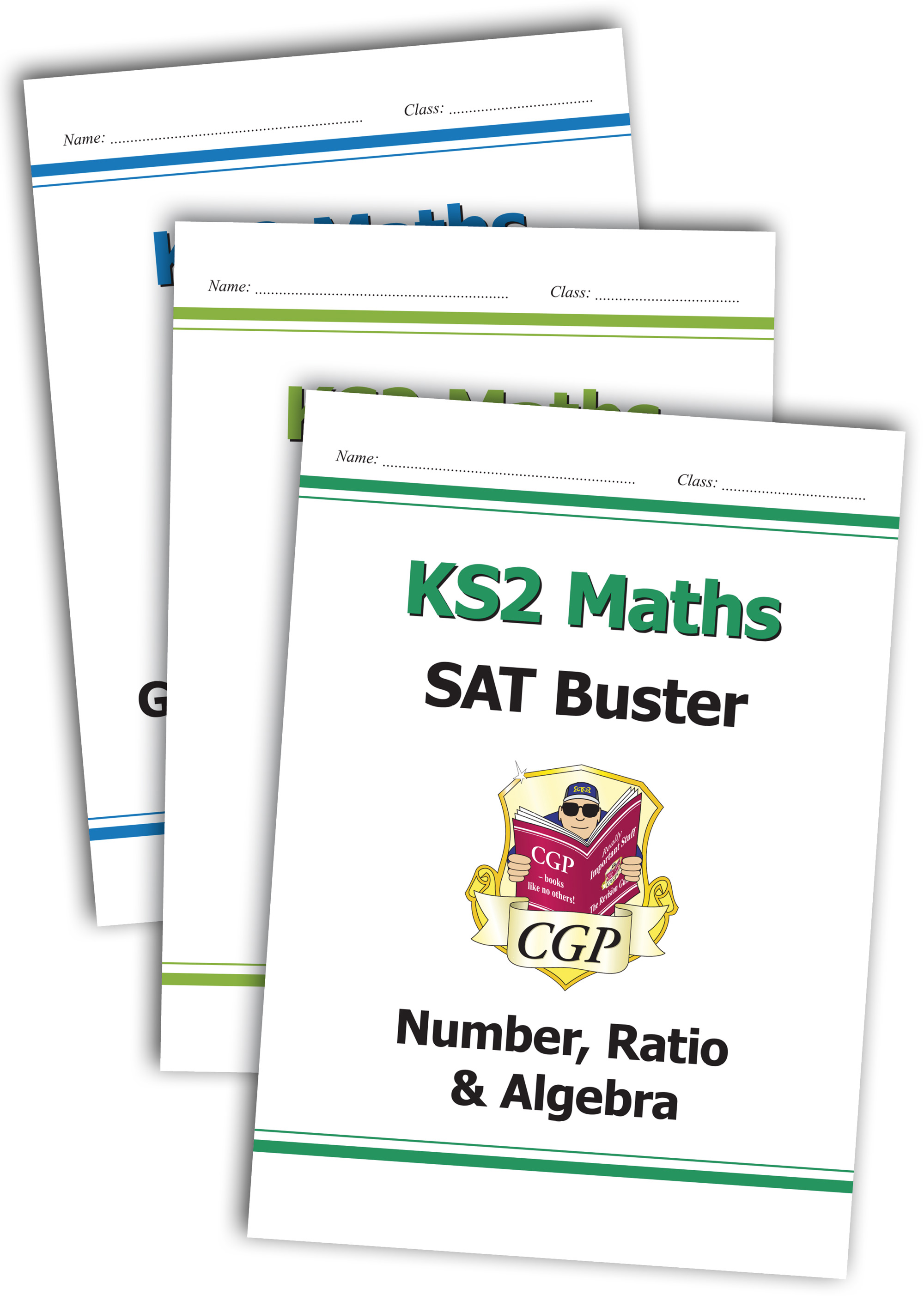 M6SBB23 - Complete KS2 Maths SAT Buster Book 1 Bundle - incl answers (for tests in 2019)