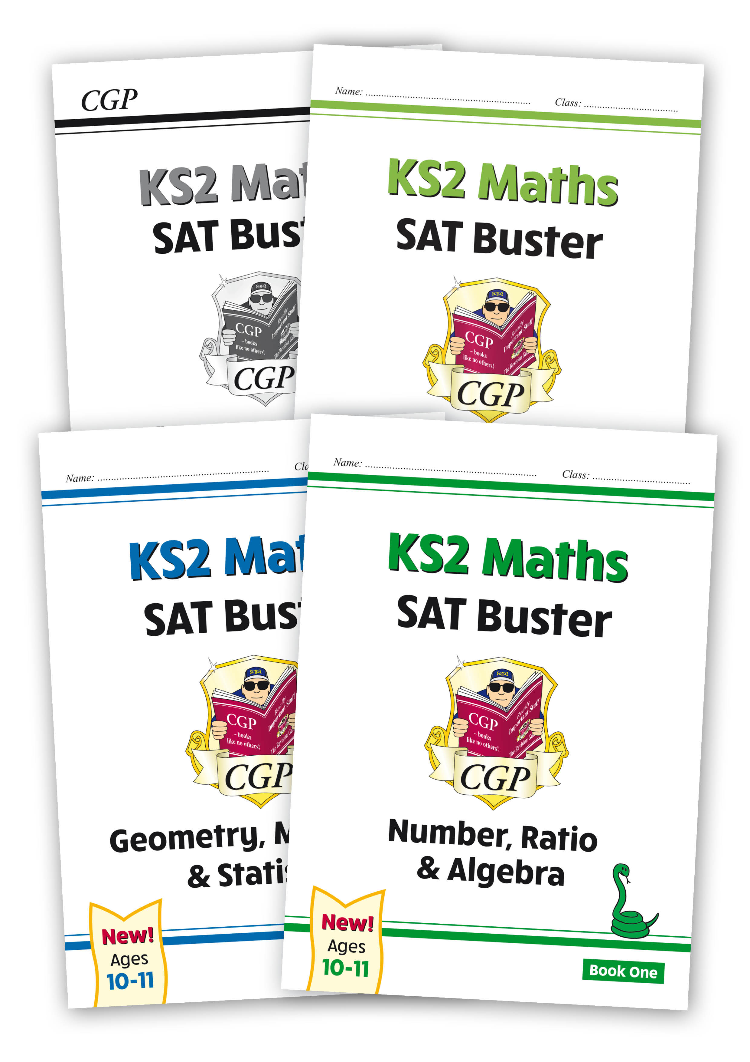 M6SBB24 - New KS2 Maths SAT Buster Book 1 Bundle - includes answers (for the 2021 tests)