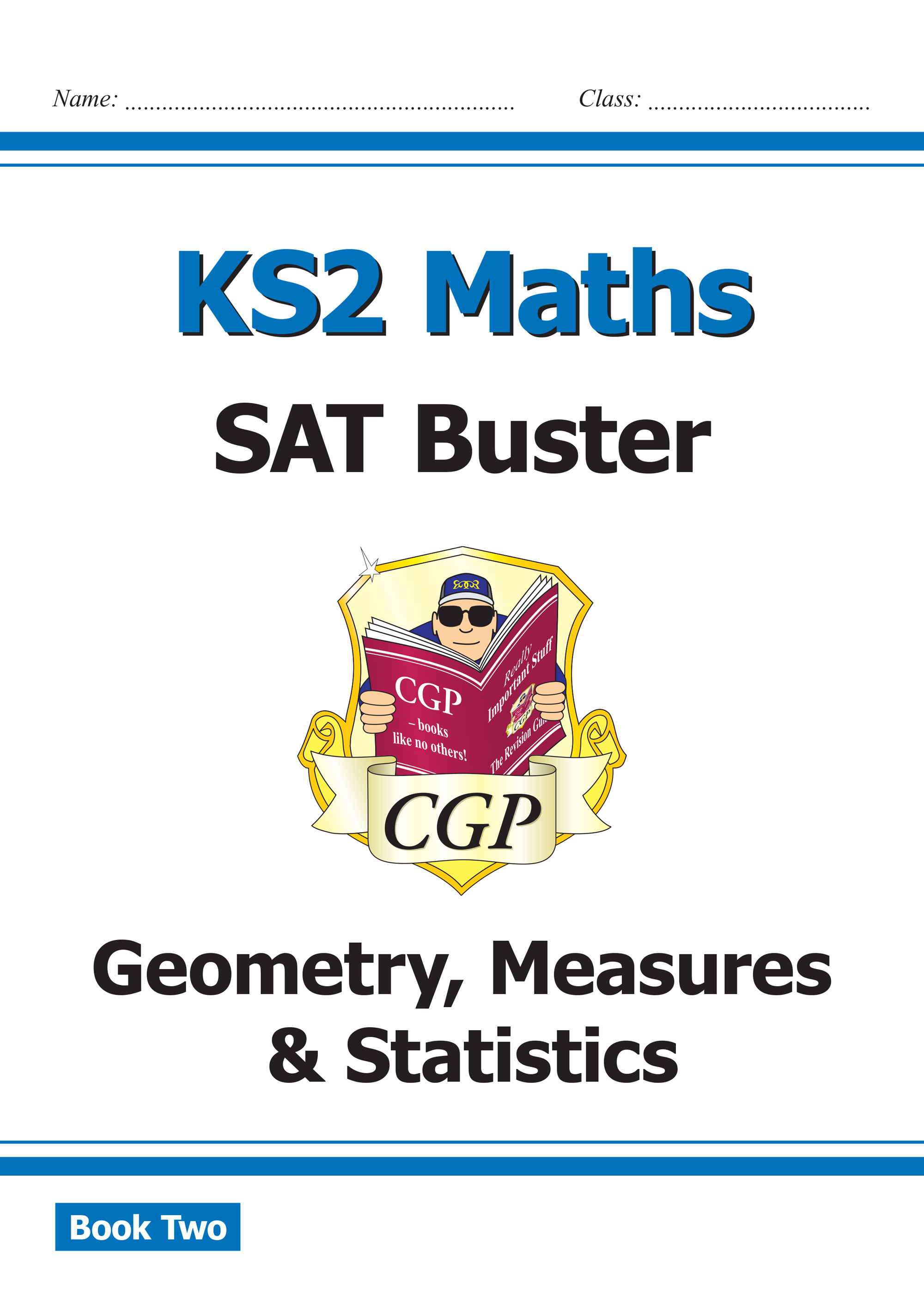 M6SMD221 - New KS2 Maths SAT Buster: Geometry, Measures & Statistics Book 2 (for the 2019 tests)