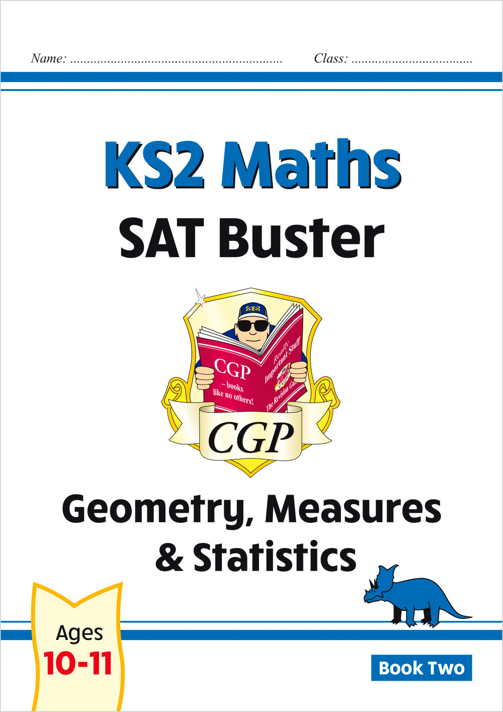 M6SMD222 - New KS2 Maths SAT Buster: Geometry, Measures & Statistics - Book 2 (for the 2021 tests)