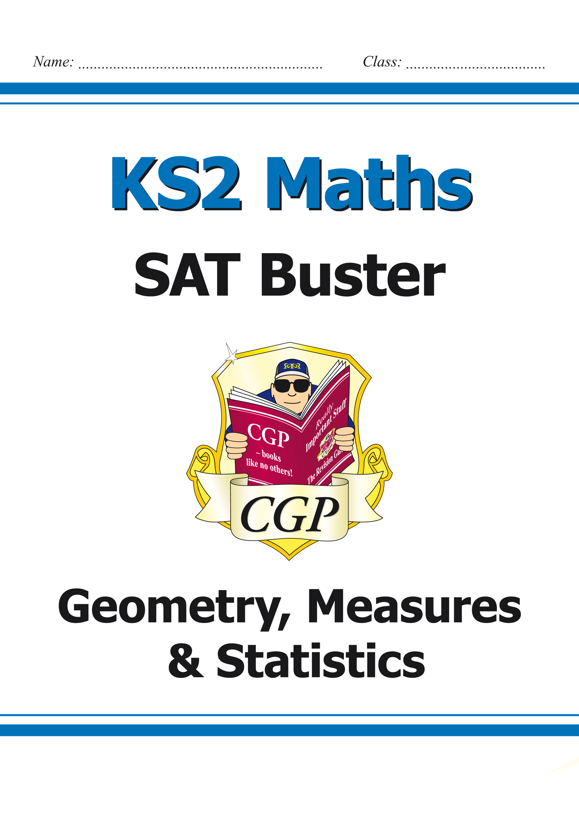 M6SMD23 - KS2 Maths SAT Buster: Geometry, Measures & Statistics Book 1 (for the 2020 tests)