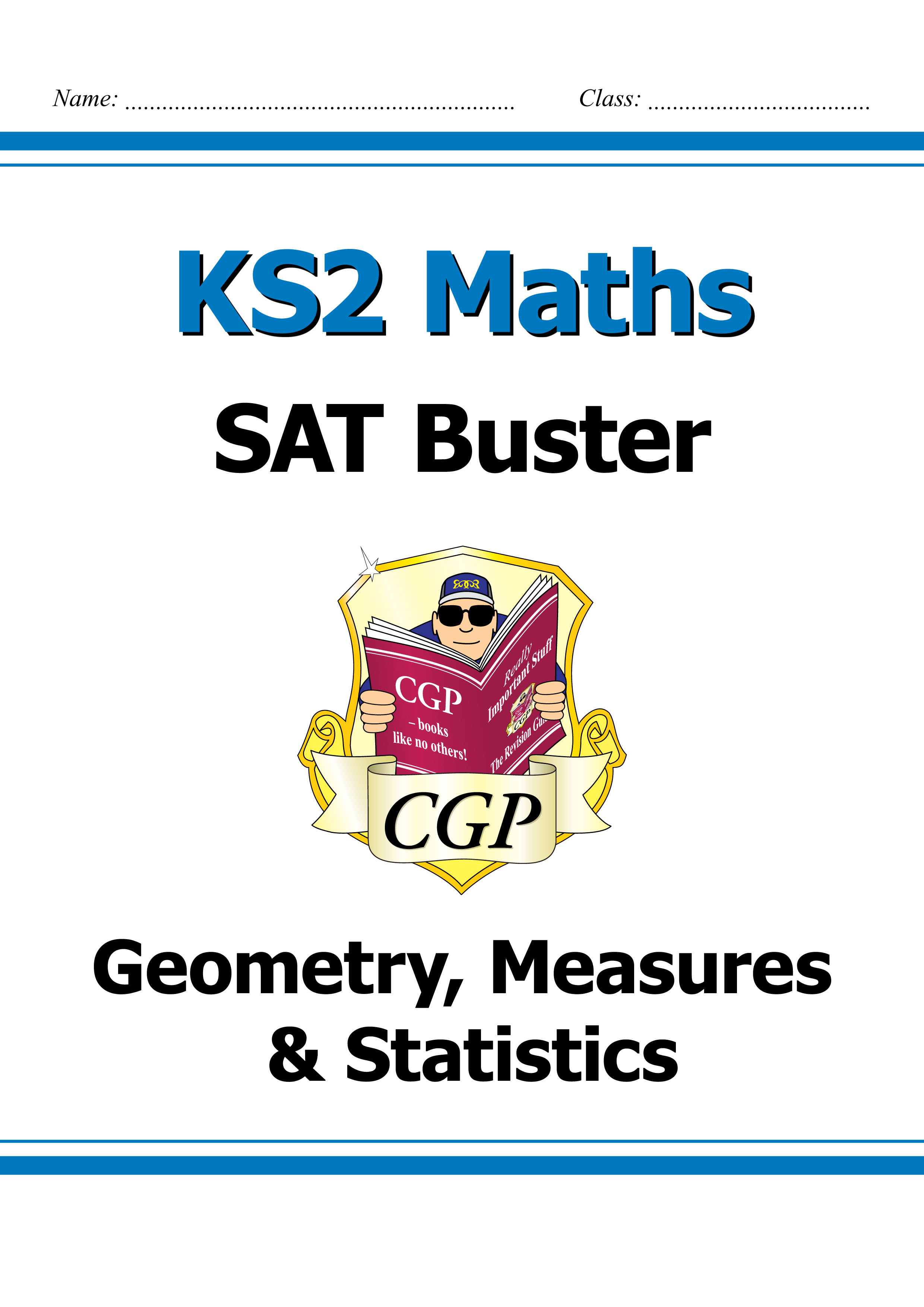 M6SMD23DK - KS2 Maths SAT Buster: Geometry, Measures & Statistics (for tests in 2018 and beyond)