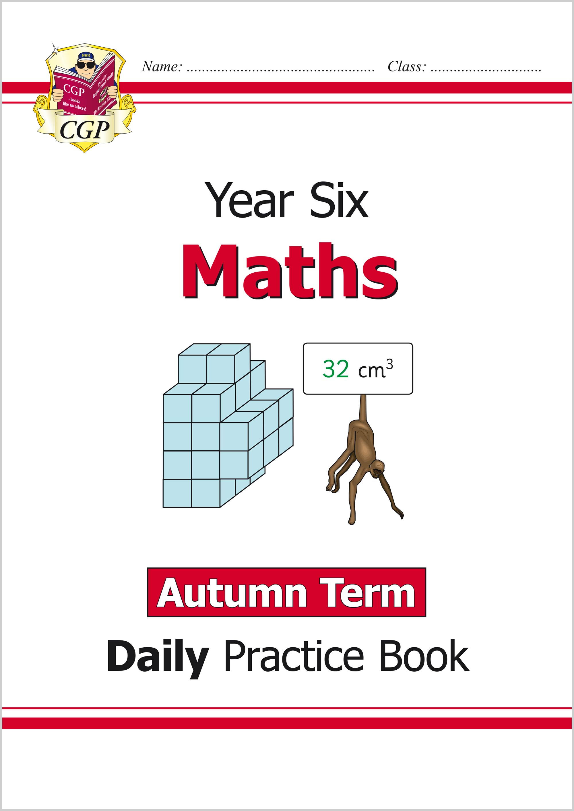 M6WAU21 - New KS2 Maths Daily Practice Book: Year 6 - Autumn Term