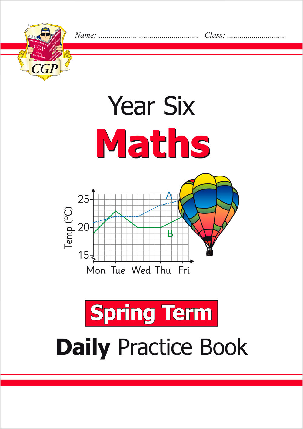 M6WSP21 - New KS2 Maths Daily Practice Book: Year 6 - Spring Term