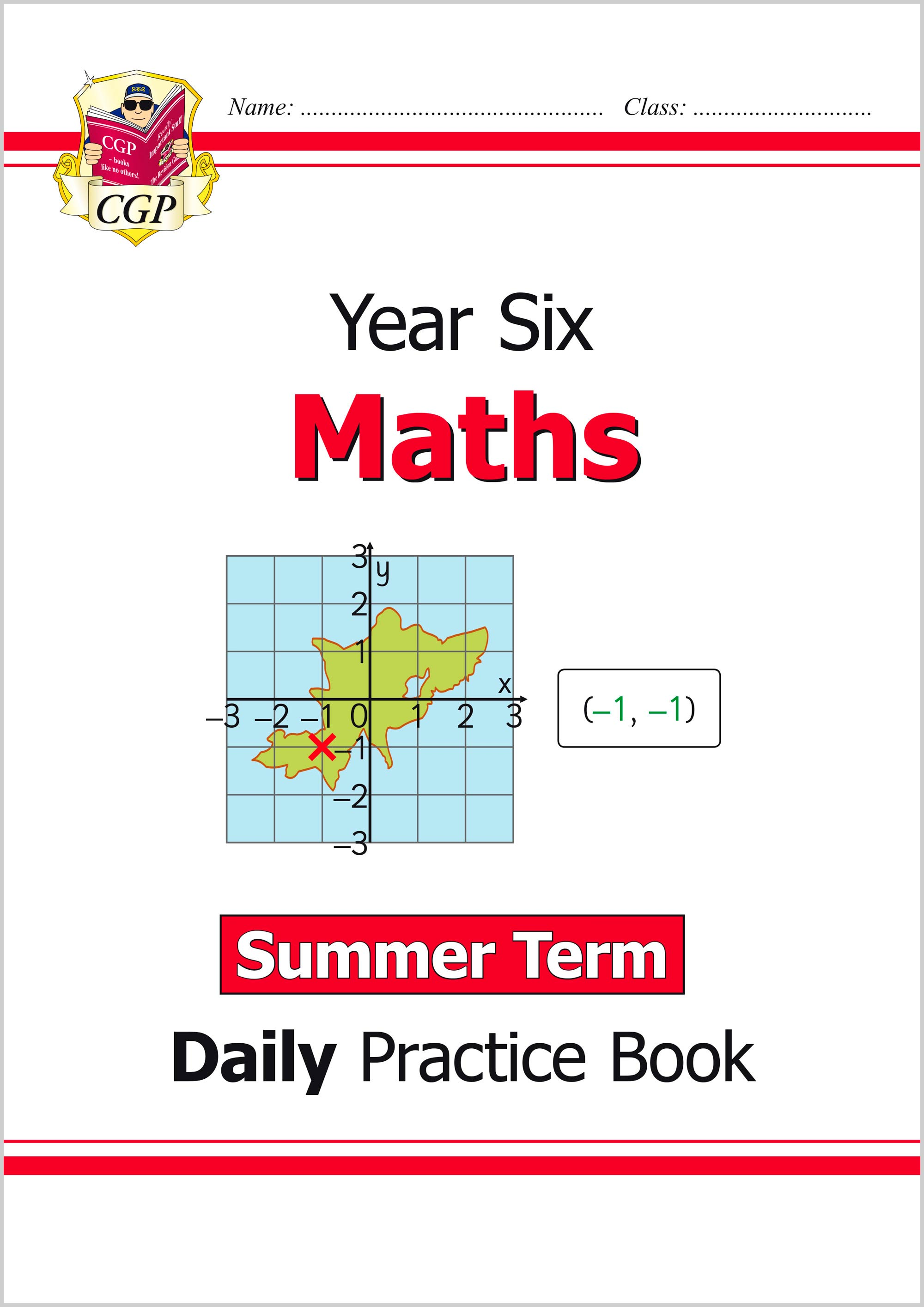 M6WSU21 - New KS2 Maths Daily Practice Book: Year 6 - Summer Term