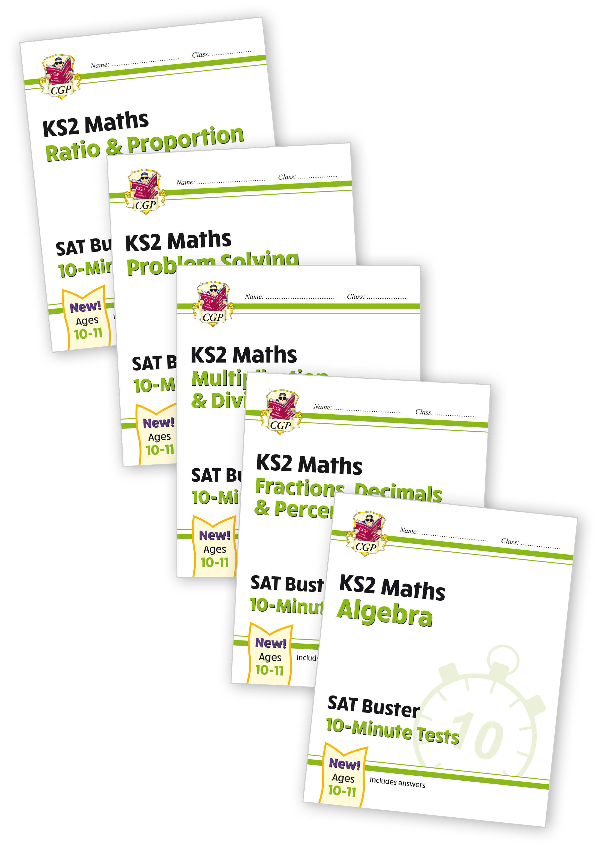 M6XB21 - Year 6 Maths 10-Minute Tests bundle