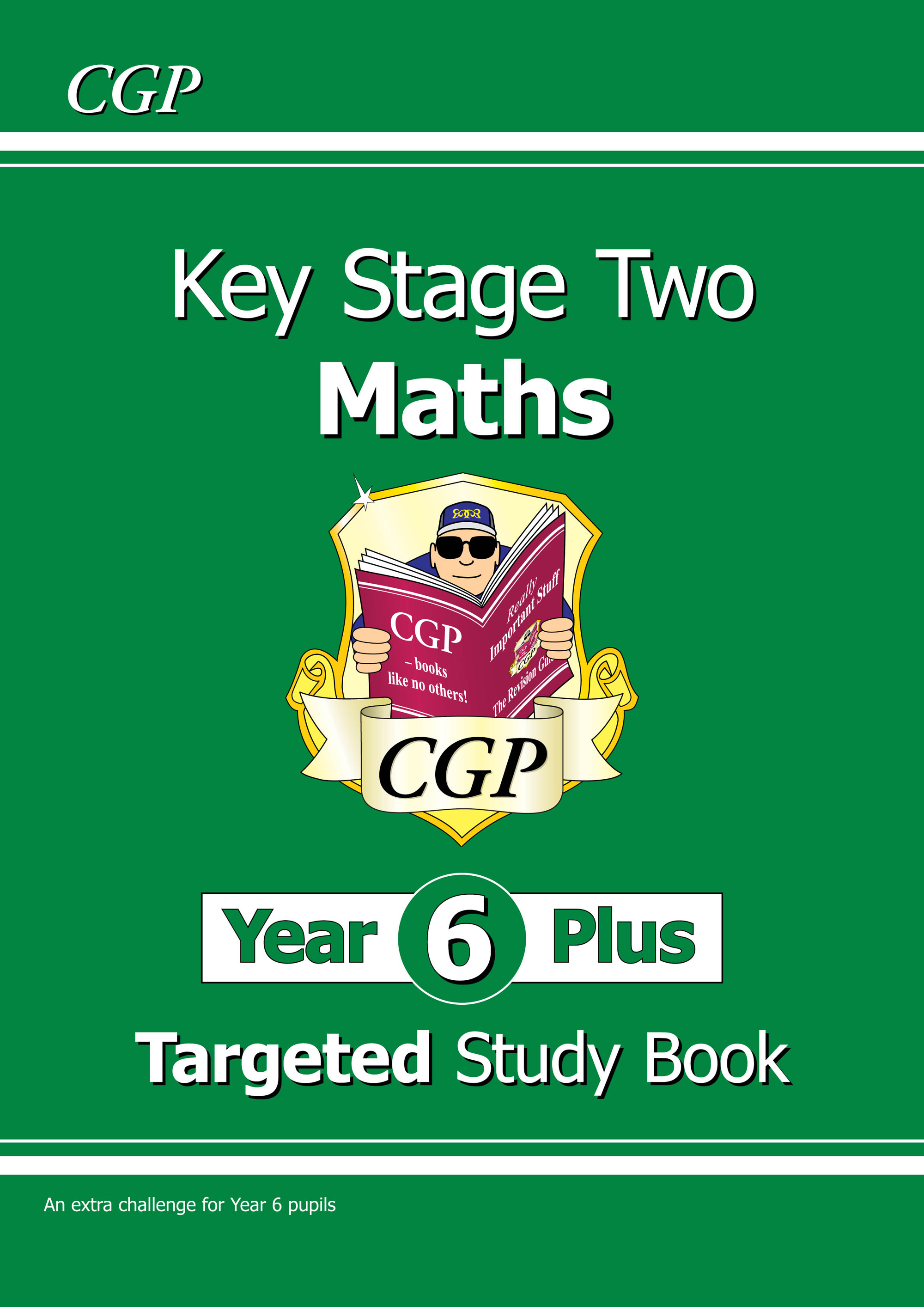 M7R21DK - KS2 Maths Targeted Study Book - Year 6+, Challenging Maths for Year 6 Pupils