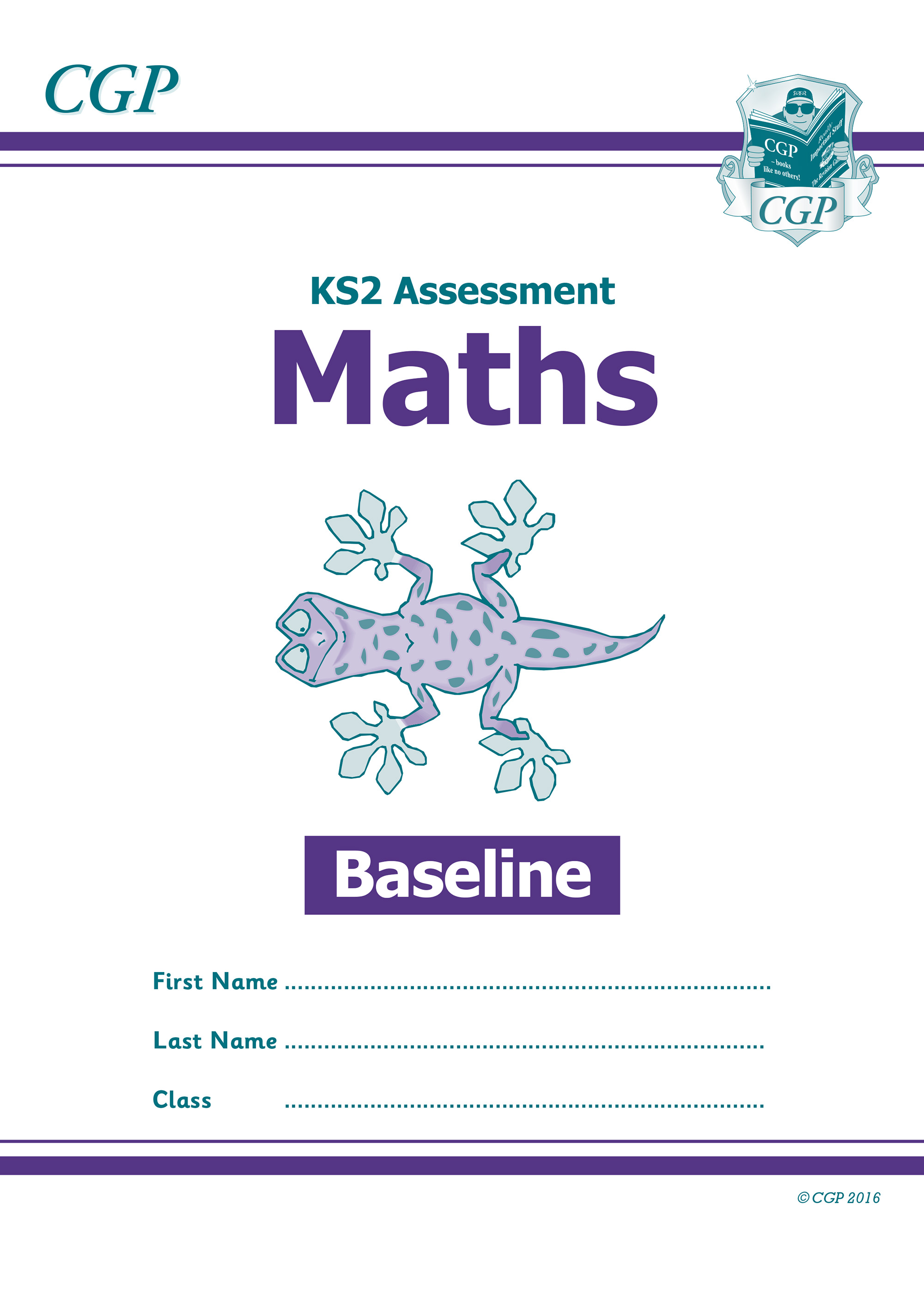 MBP21 - KS2 Assessment: Maths - Baseline Test