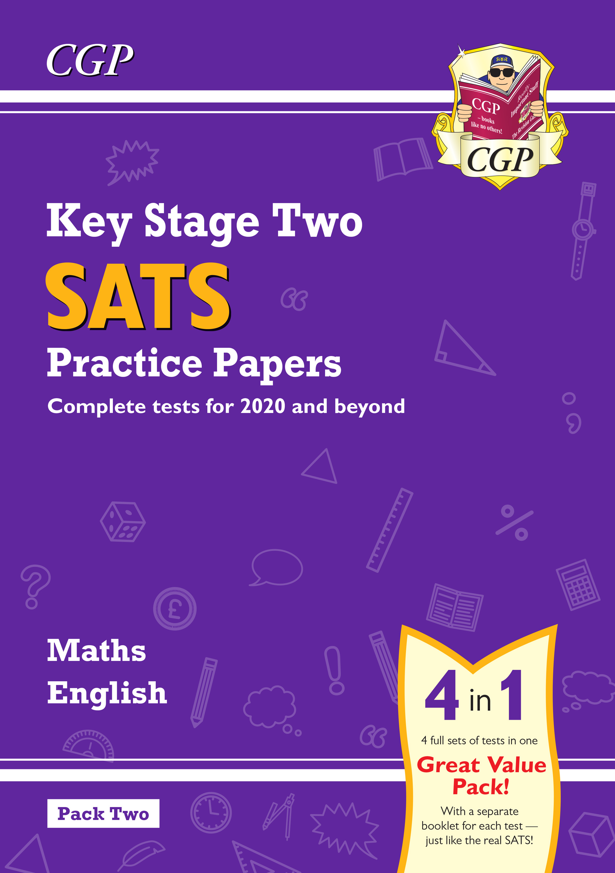 MEB223 - New KS2 Maths and English SATS Practice Papers Pack (for the 2019 tests) - Pack 2