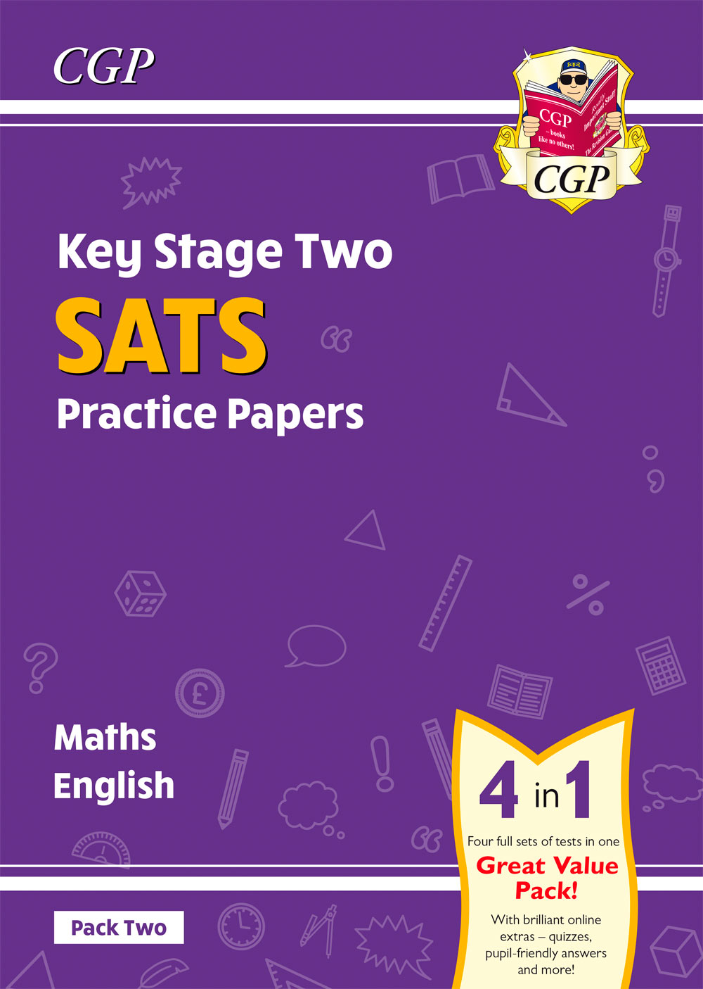 MEB224 - New KS2 Maths & English SATS Practice Papers: Pack 1 - for the 2021 tests (with free Online