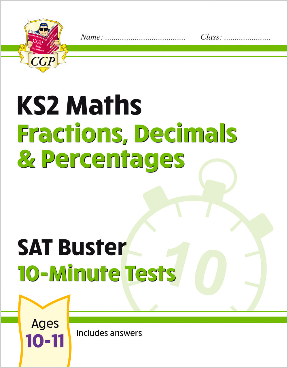 MFDPXP21 - New KS2 Maths SAT Buster 10-Minute Tests - Fractions, Decimals & Percentages (for the 202