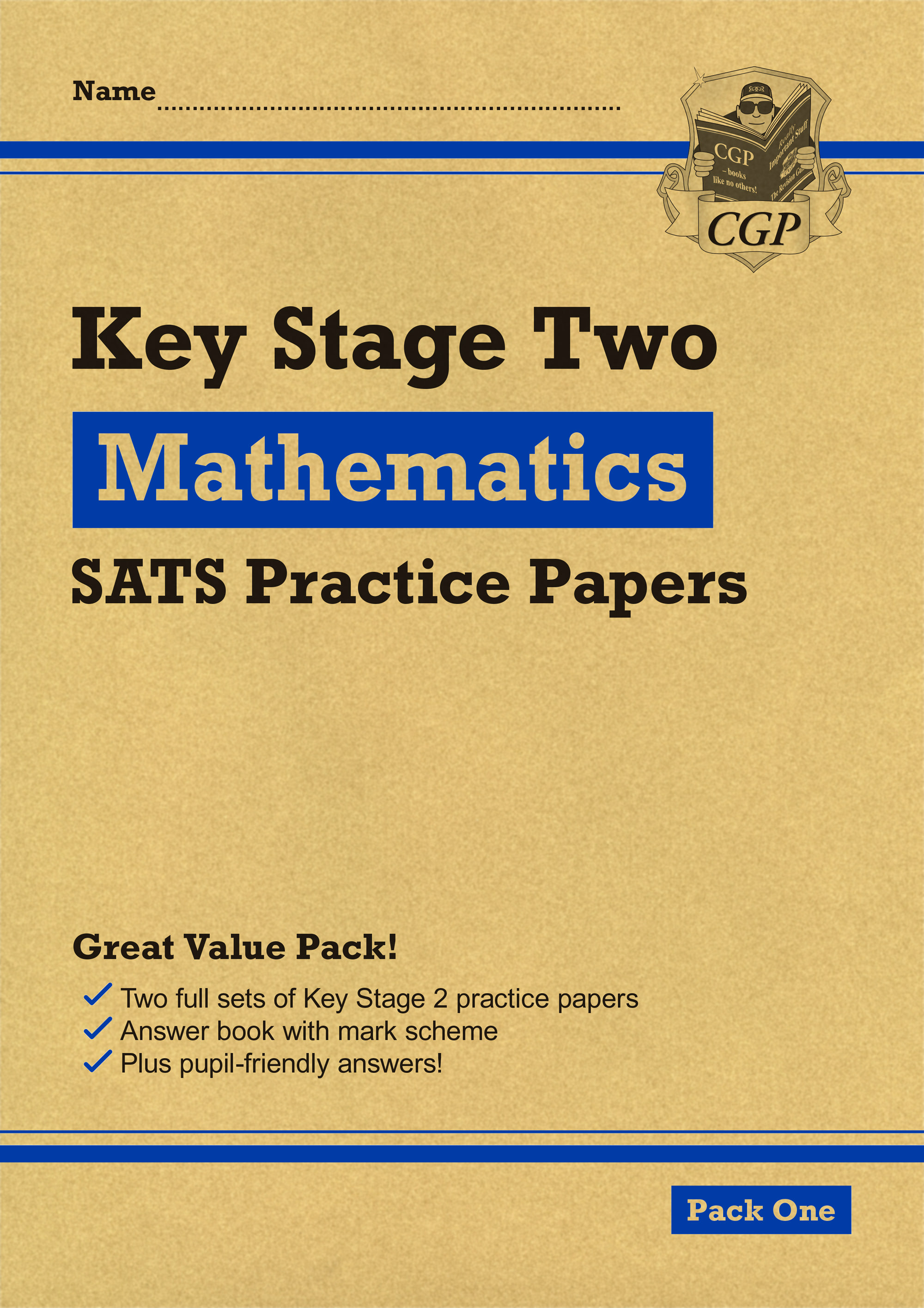 MHEP27 - New KS2 Maths SATS Practice Papers: Pack 1 (for the 2019 tests)