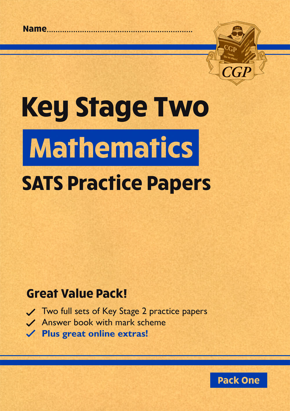 MHEP28 - New KS2 Maths SATS Practice Papers: Pack 1 - for the 2021 tests (with free Online Extras)
