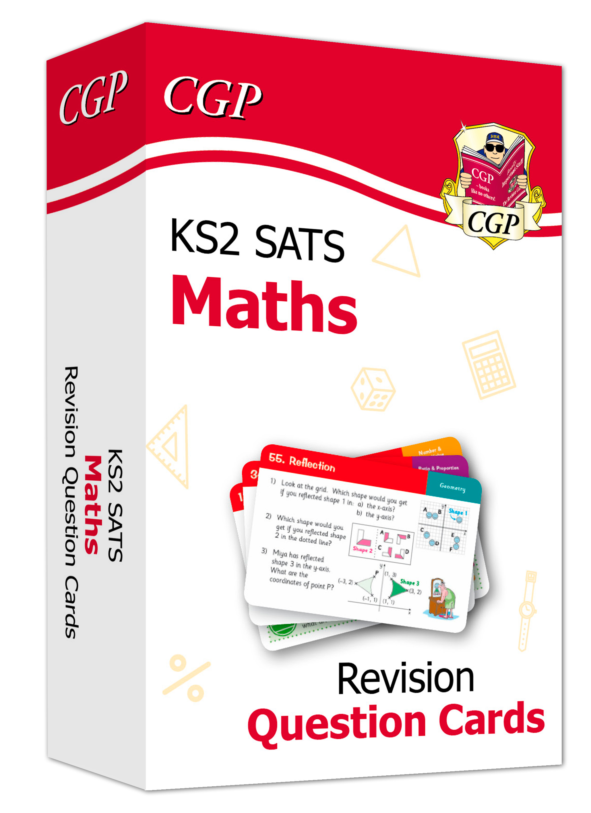 MHF21D - New KS2 Maths SATS Revision Question Cards (for the 2021 tests) Online Edition