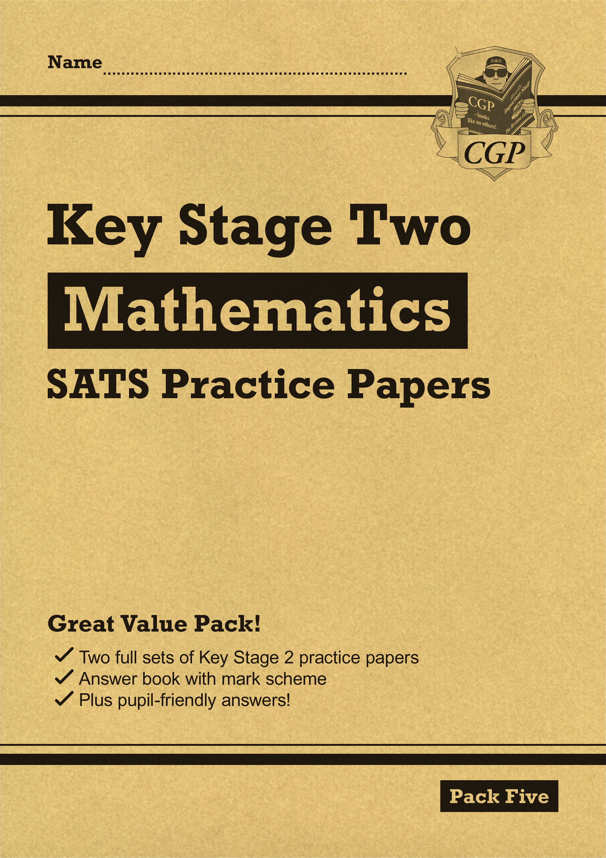 MHP25 - New KS2 Maths SATS Practice Papers: Pack 5 (for the 2019 tests)