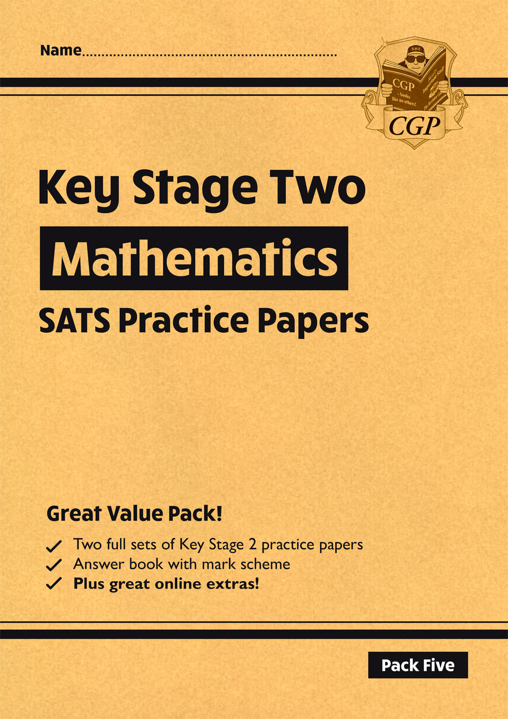 MHP26 - New KS2 Maths SATS Practice Papers: Pack 5 - for the 2021 tests (with free Online Extras)