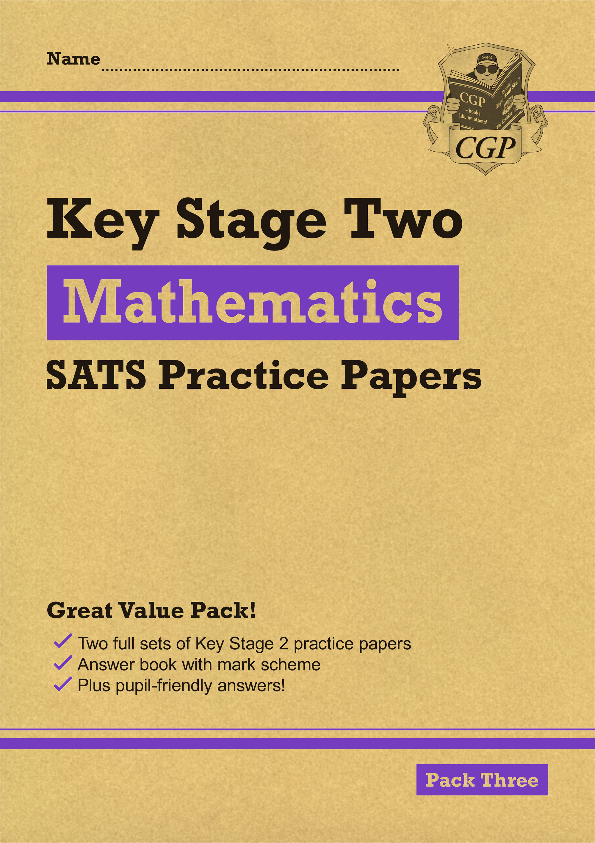 MHPP27 - New KS2 Maths SATS Practice Papers: Pack 3 (for the 2019 tests)