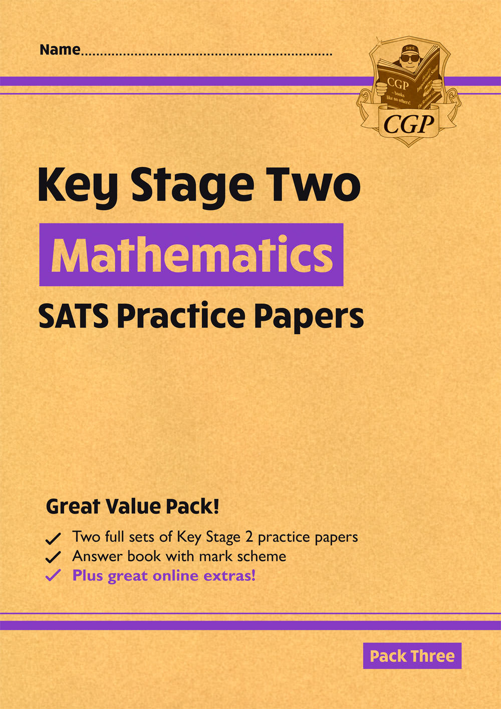MHPP28 - New KS2 Maths SATS Practice Papers: Pack 3 - for the 2021 tests (with free Online Extras)