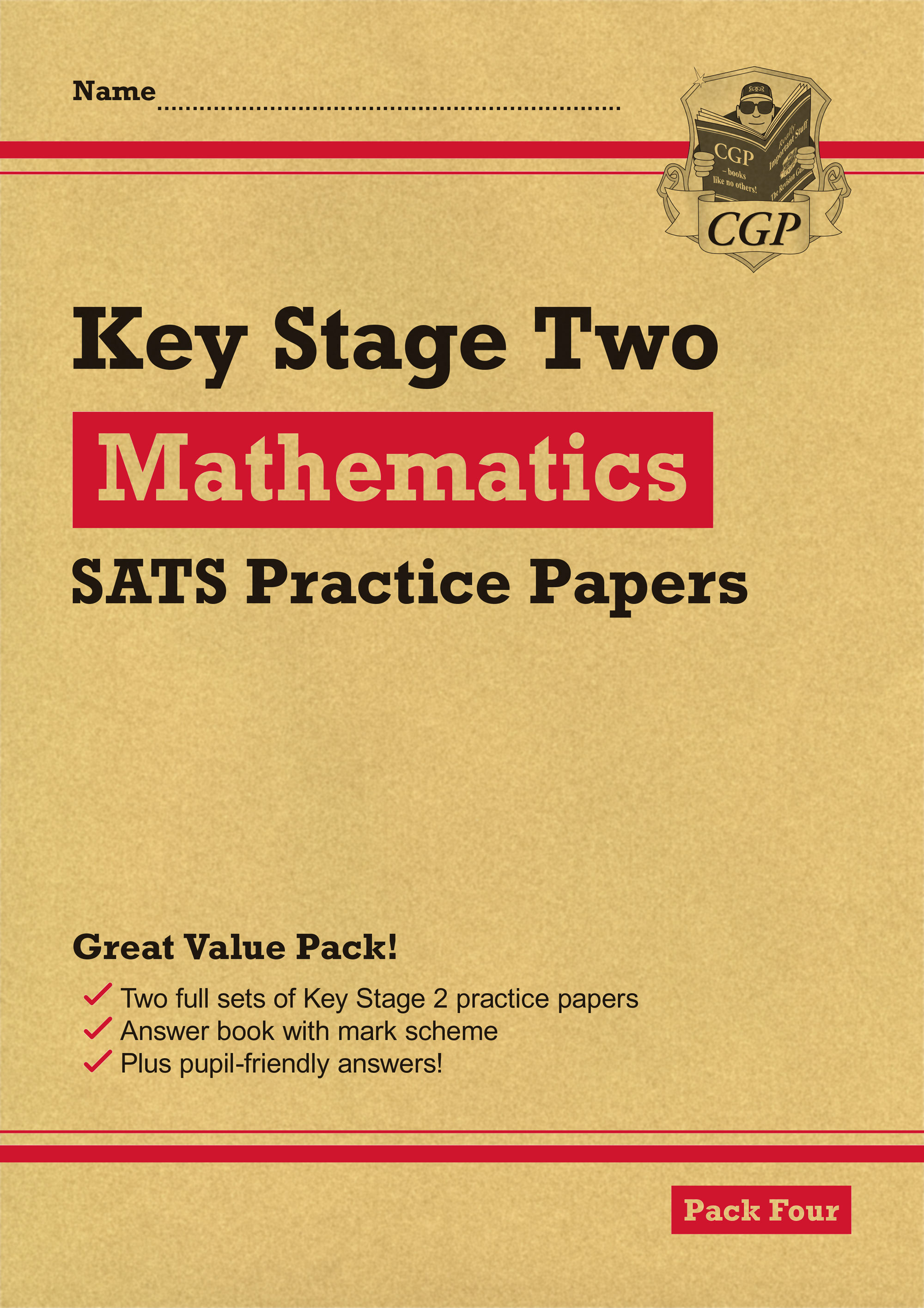 MHRP27 - New KS2 Maths SATS Practice Papers: Pack 4 (for the 2019 tests)