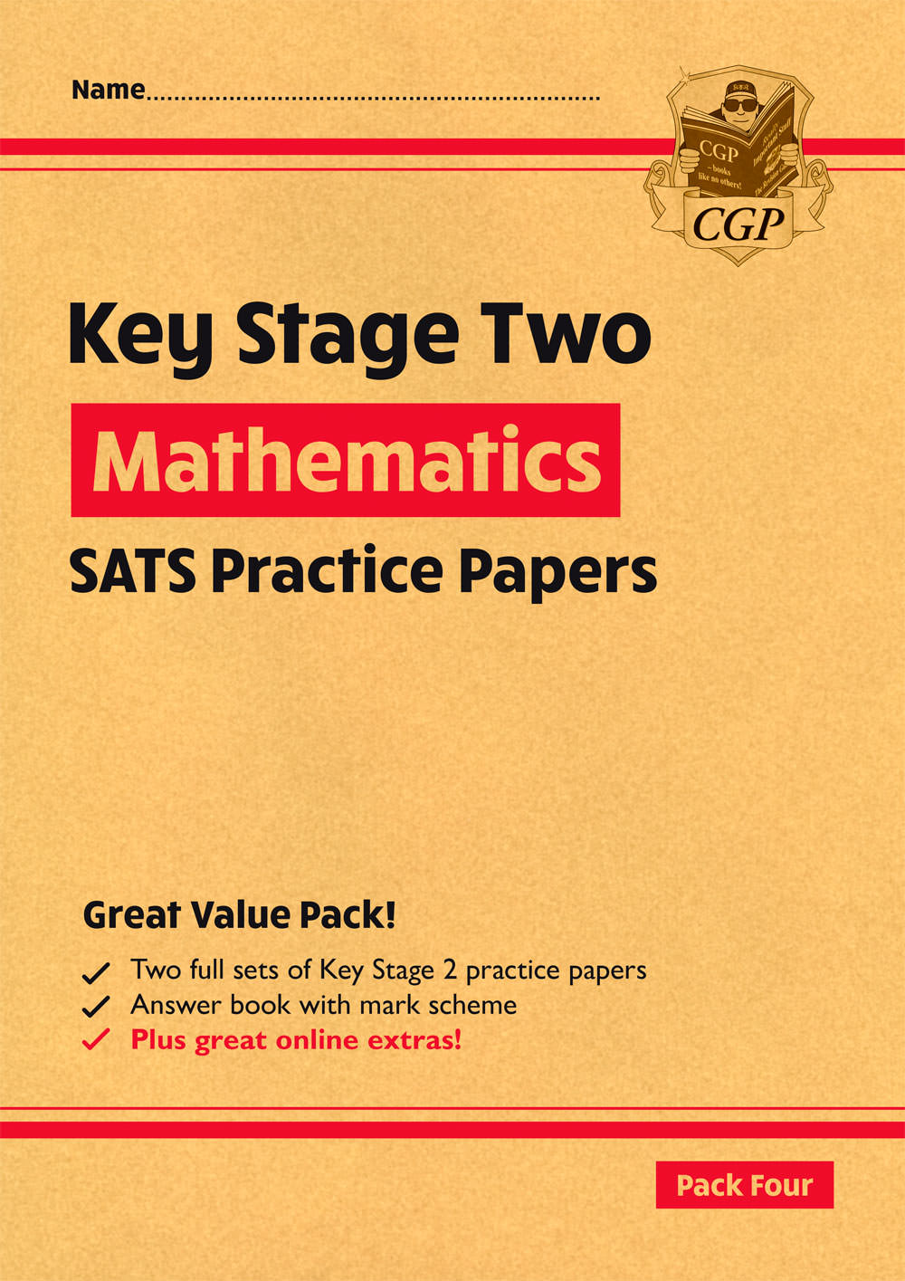 MHRP28 - New KS2 Maths SATS Practice Papers: Pack 4 - for the 2021 tests (with free Online Extras)
