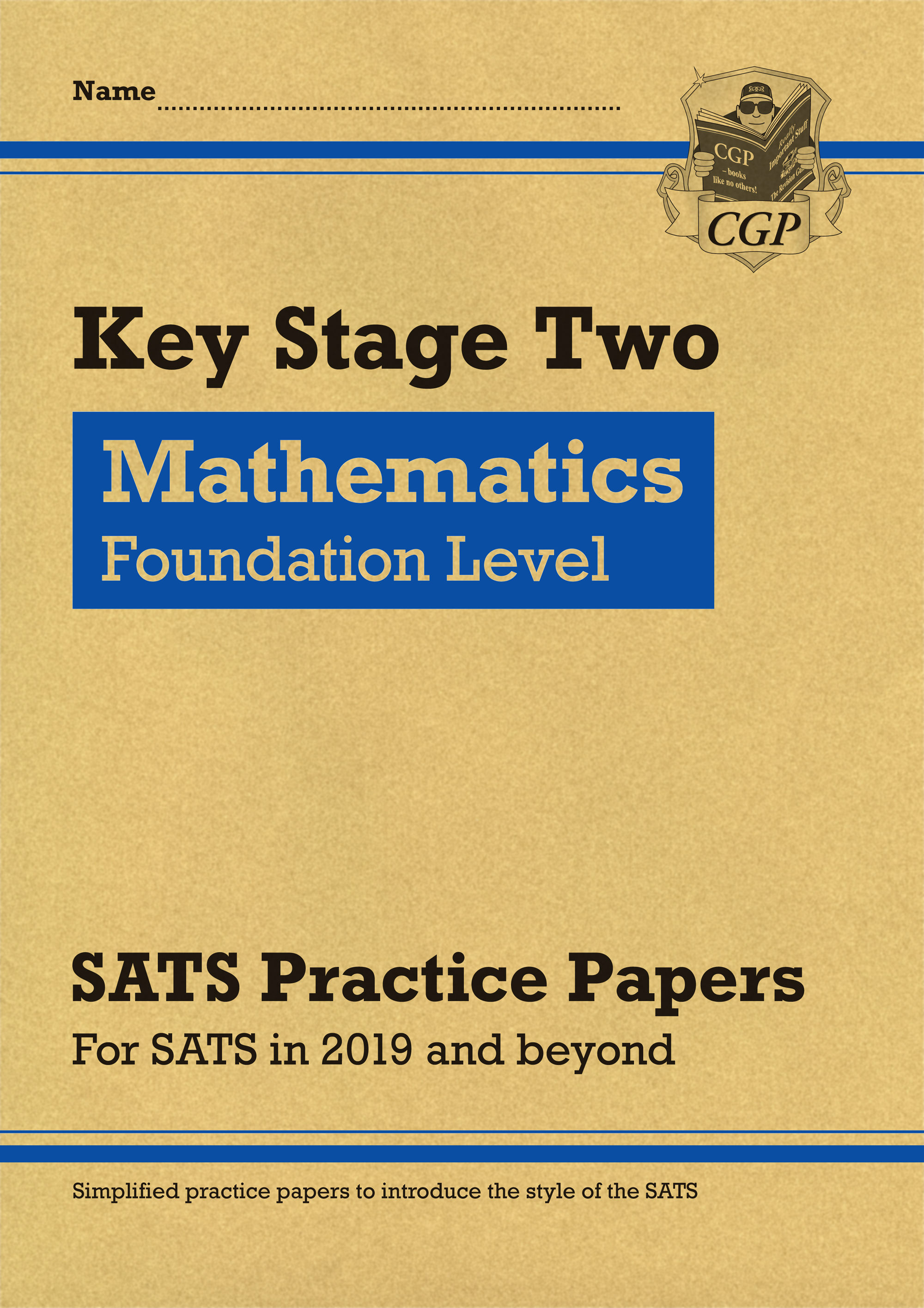 MLFP22 - New KS2 Maths Targeted SATS Practice Papers: Foundation Level (for the 2020 tests)