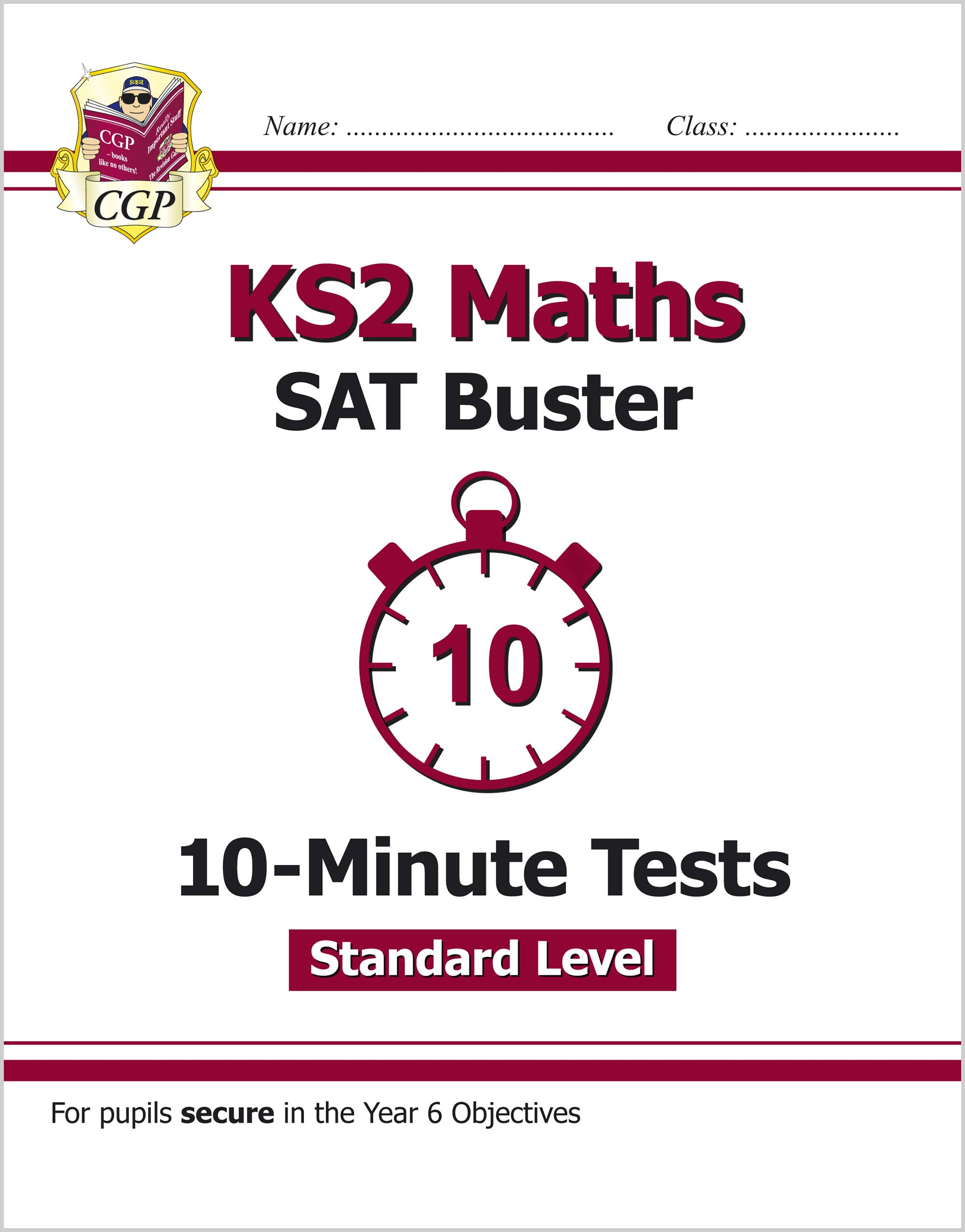 MLFXP21 - KS2 Maths Targeted SAT Buster 10-Minute Tests - Standard (for the 2019 tests)