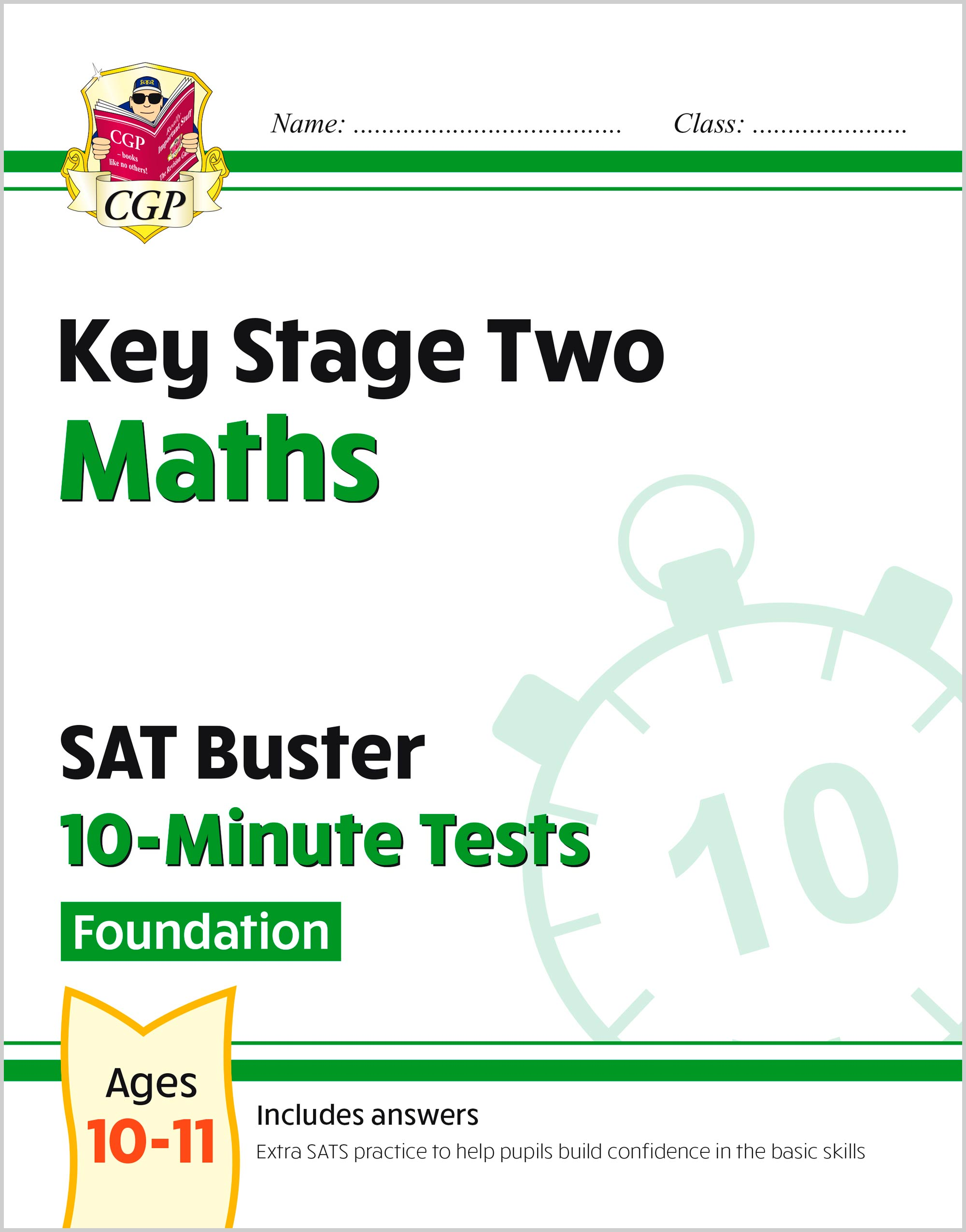 MLFXP22 - New KS2 Maths SAT Buster 10-Minute Tests - Foundation (for the 2020 tests)
