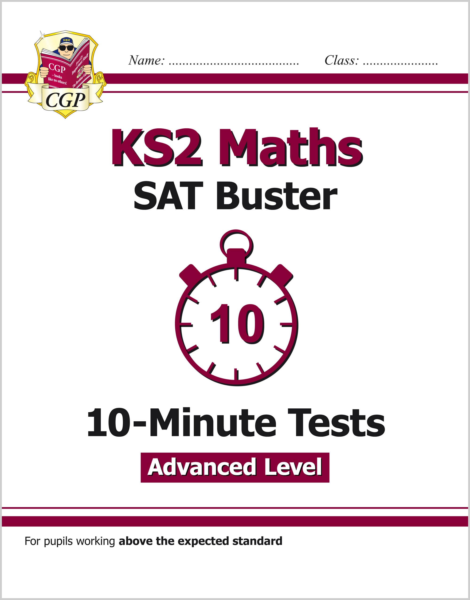 MLHXP21 - KS2 Maths Targeted SAT Buster 10-Minute Tests - Advanced (for the 2019 tests)