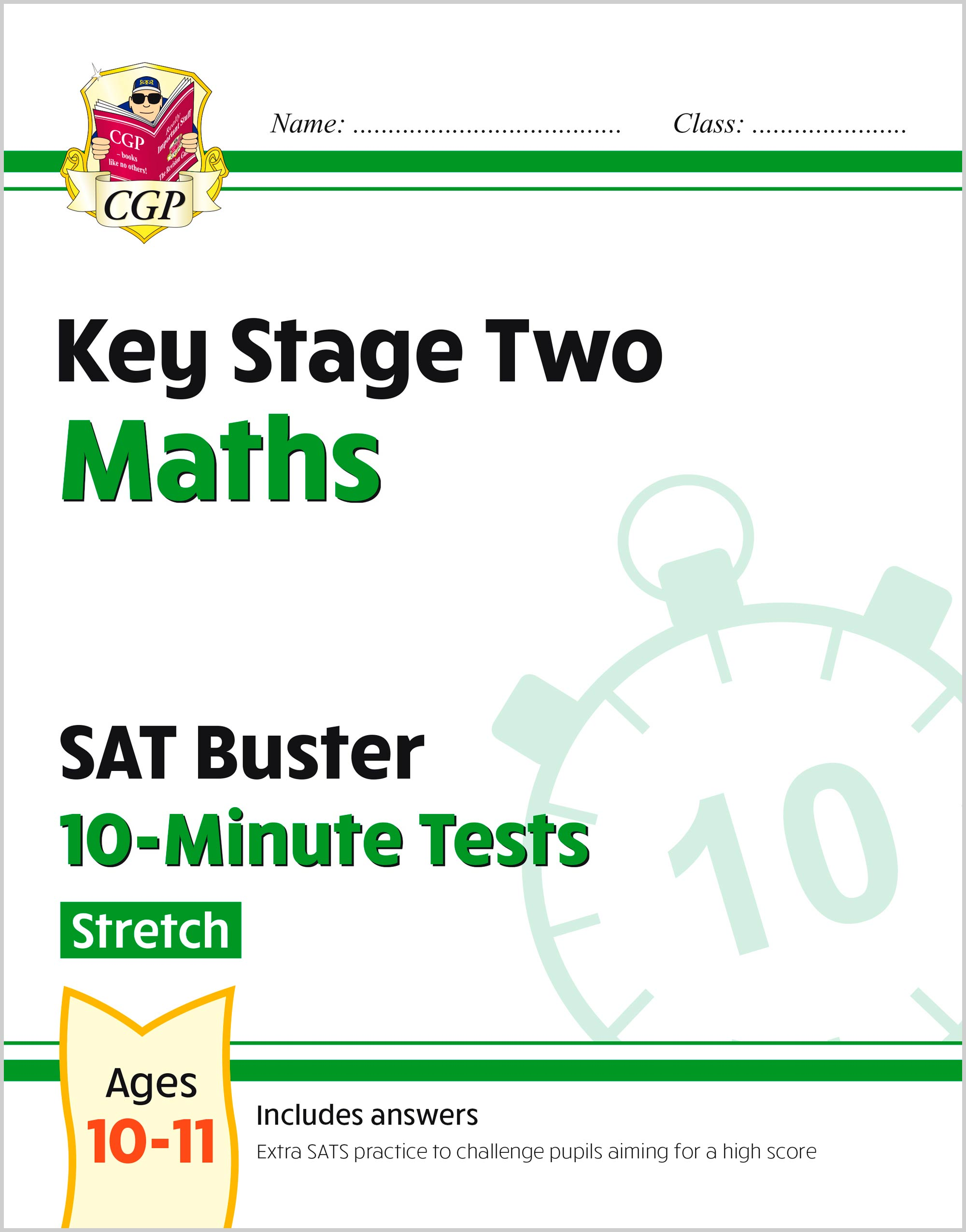 MLHXP22 - New KS2 Maths SAT Buster 10-Minute Tests - Stretch (for the 2021 tests)