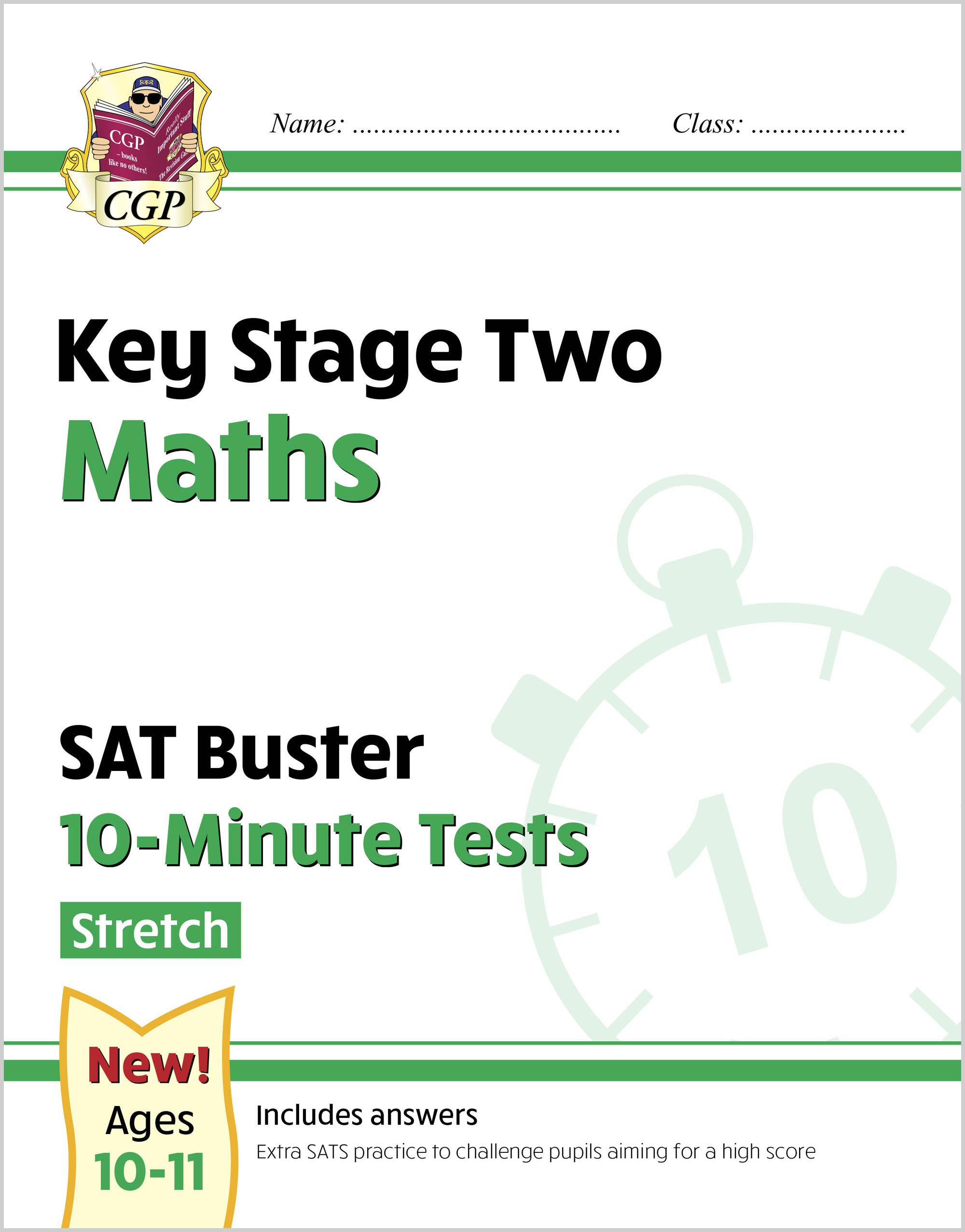 MLHXP22DK - New KS2 Maths SAT Buster 10-Minute Tests - Stretch (for the 2021 tests)