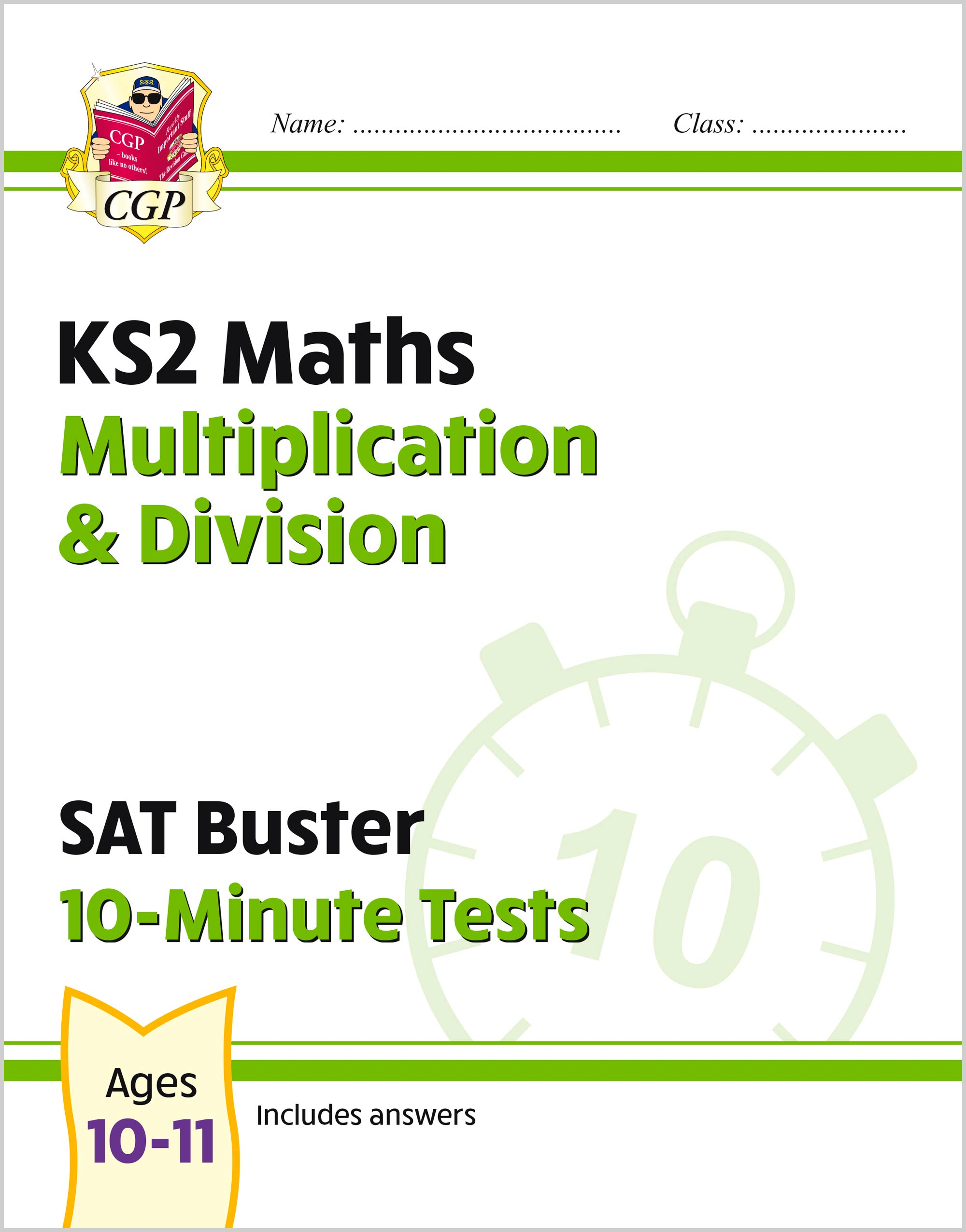 MMDXP21 - New KS2 Maths SAT Buster 10-Minute Tests - Multiplication & Division (for the 2020 tests)