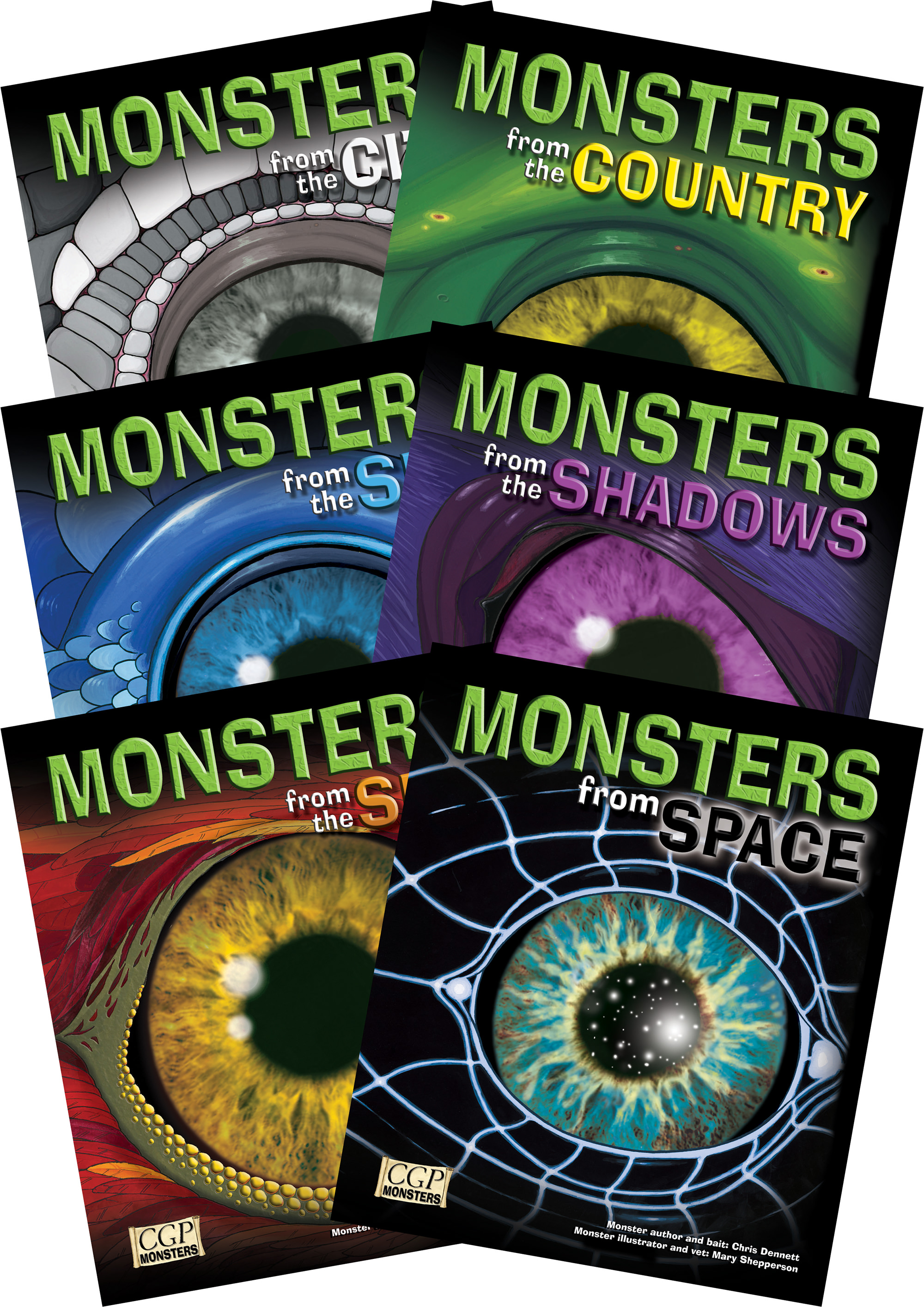 MN2 - KS2 Monsters Independent Reading Pack - 1 x each
