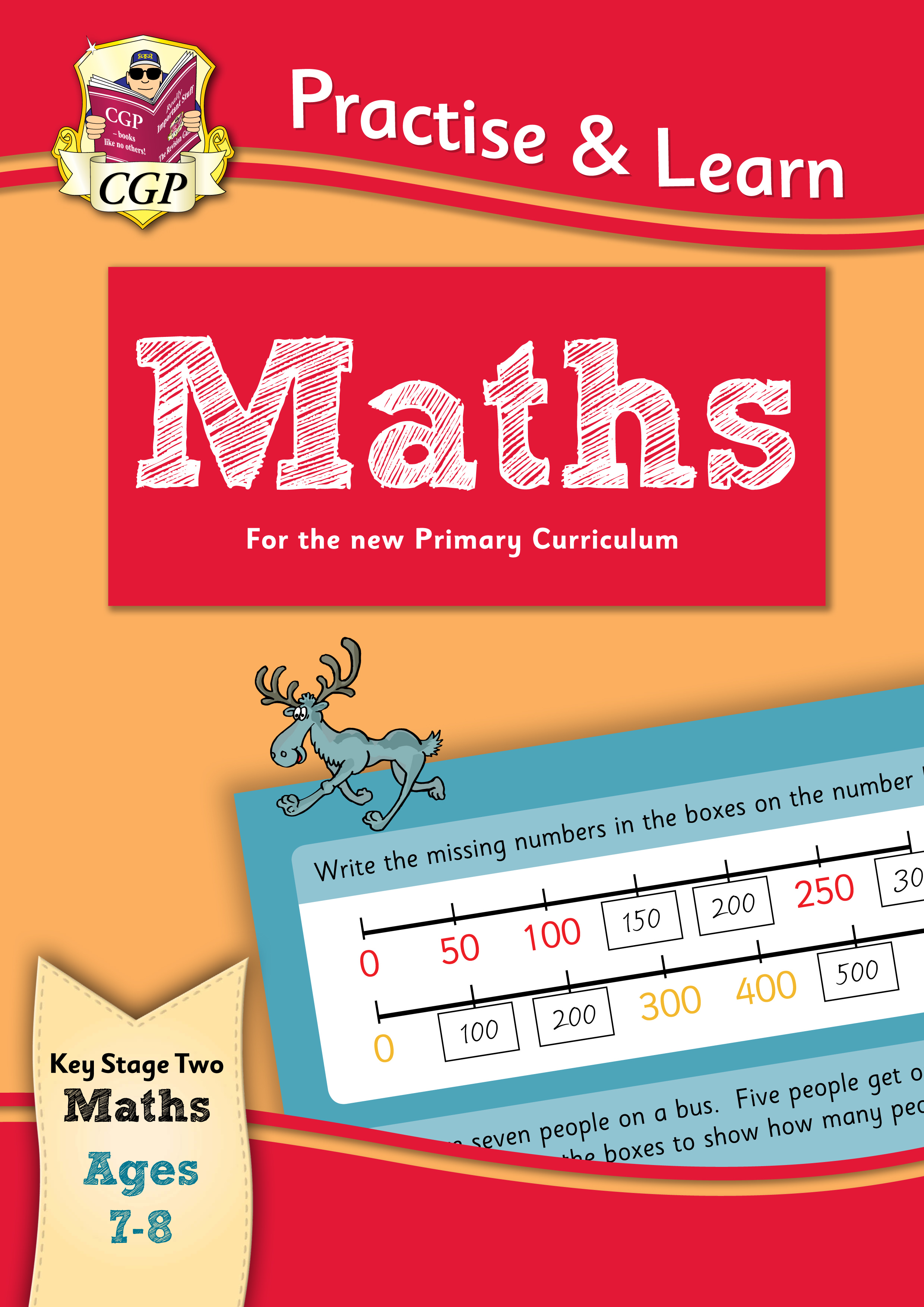 MP3Q22DK - New Curriculum Practise & Learn: Maths for Ages 7-8
