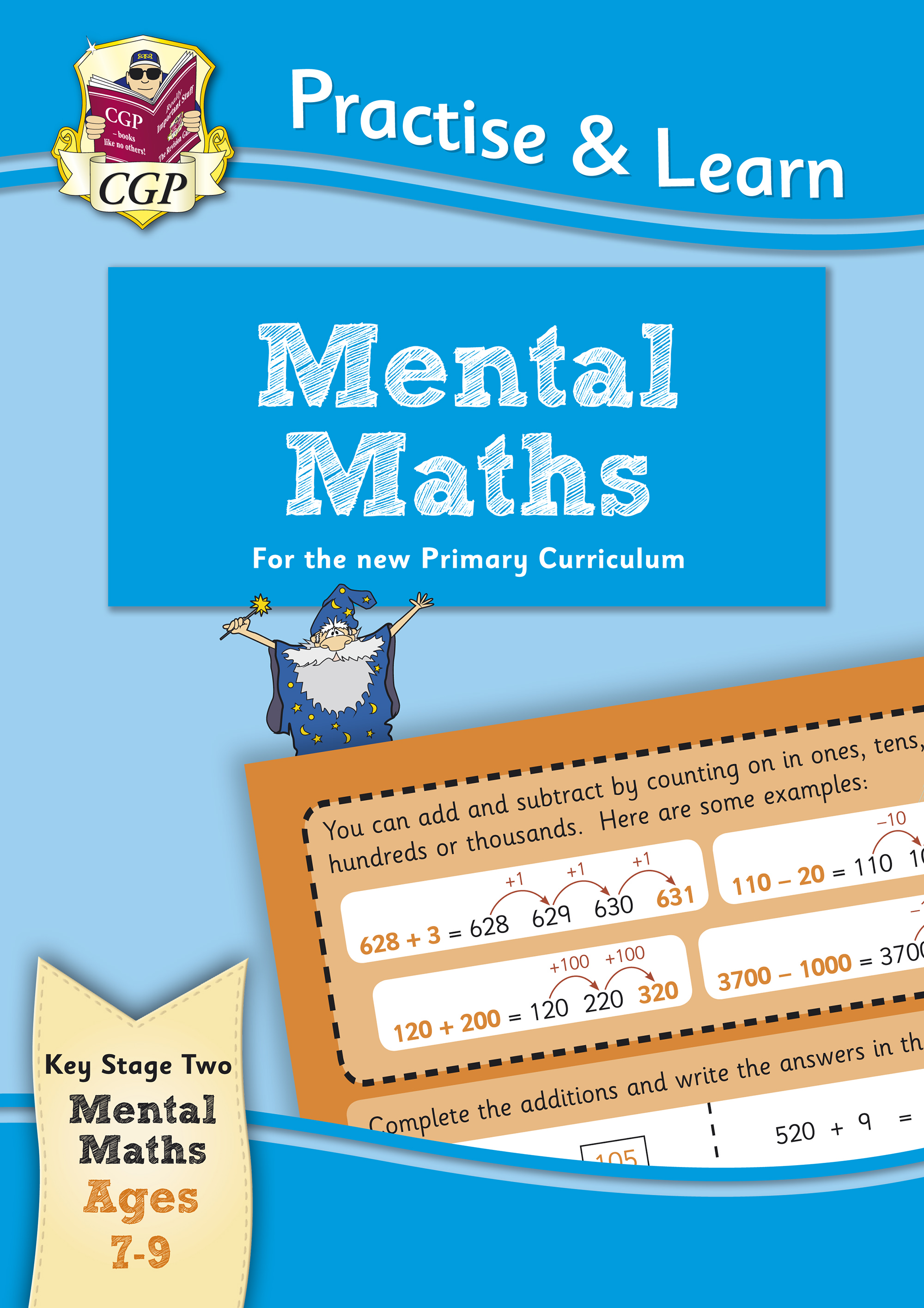 MP4MA22 - New Curriculum Practise & Learn: Mental Maths for Ages 7-9