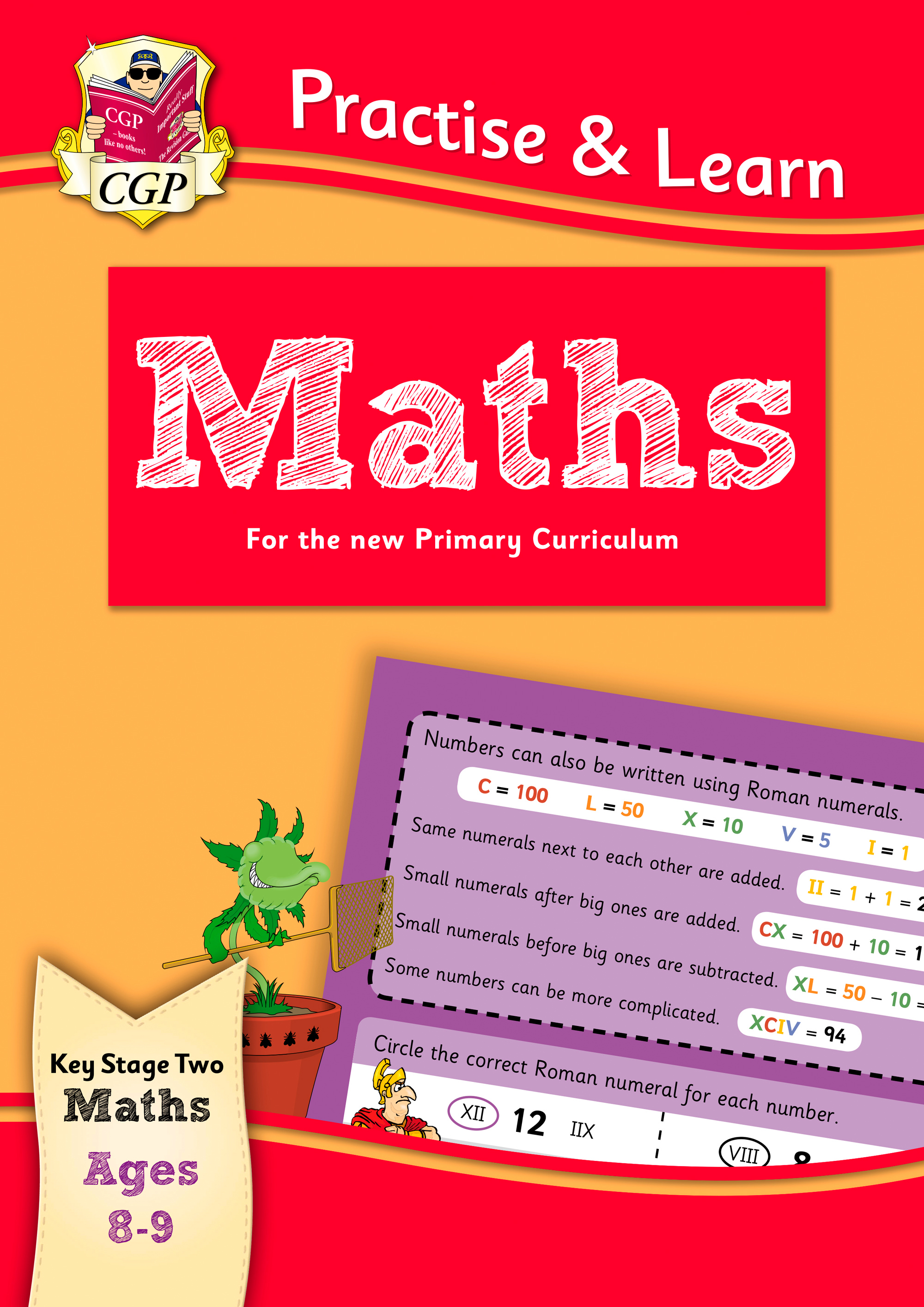 MP4Q22DK - New Curriculum Practise & Learn: Maths for Ages 8-9