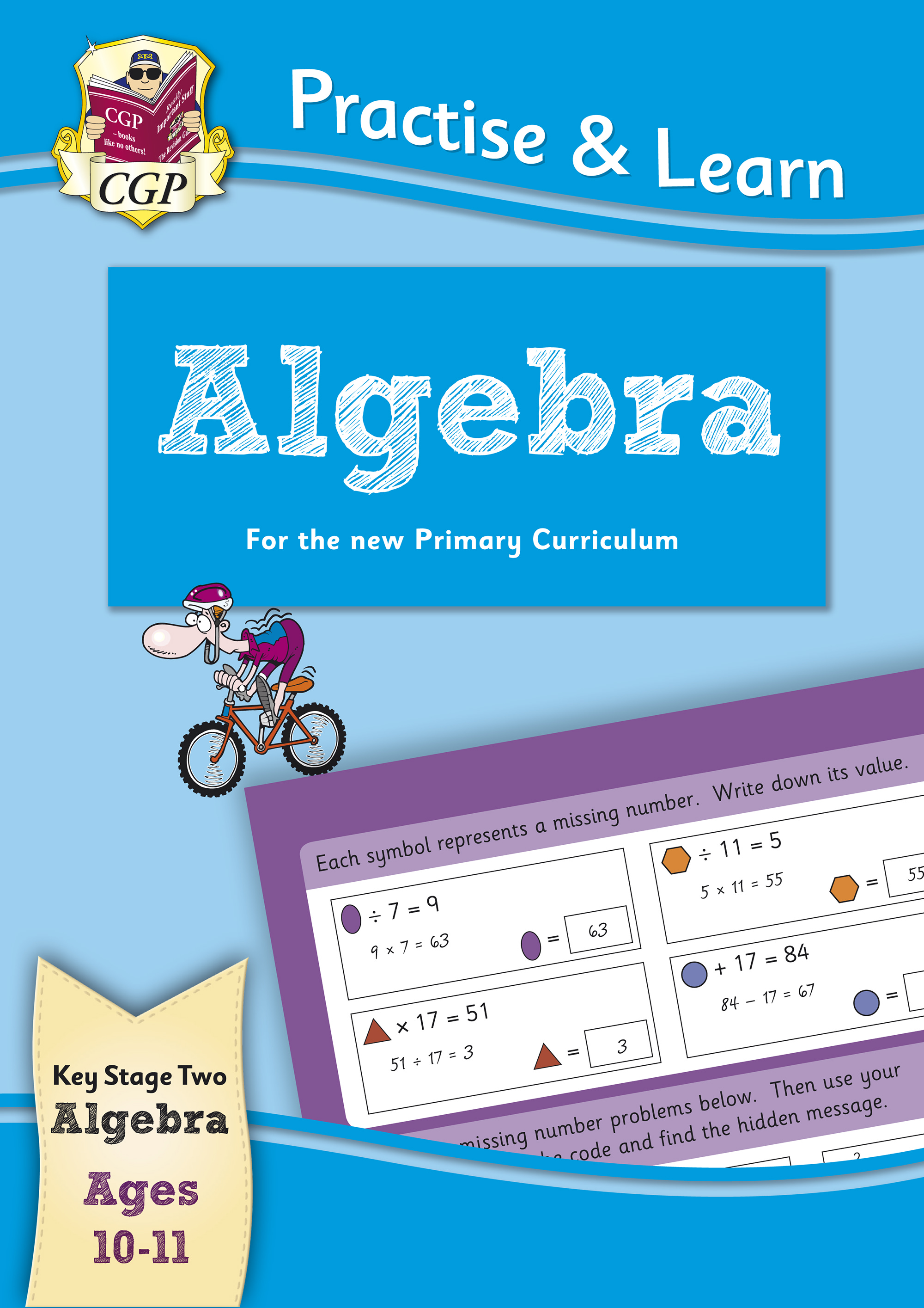 MP6AL22 - New Curriculum Practise & Learn: Algebra for Ages 10-11