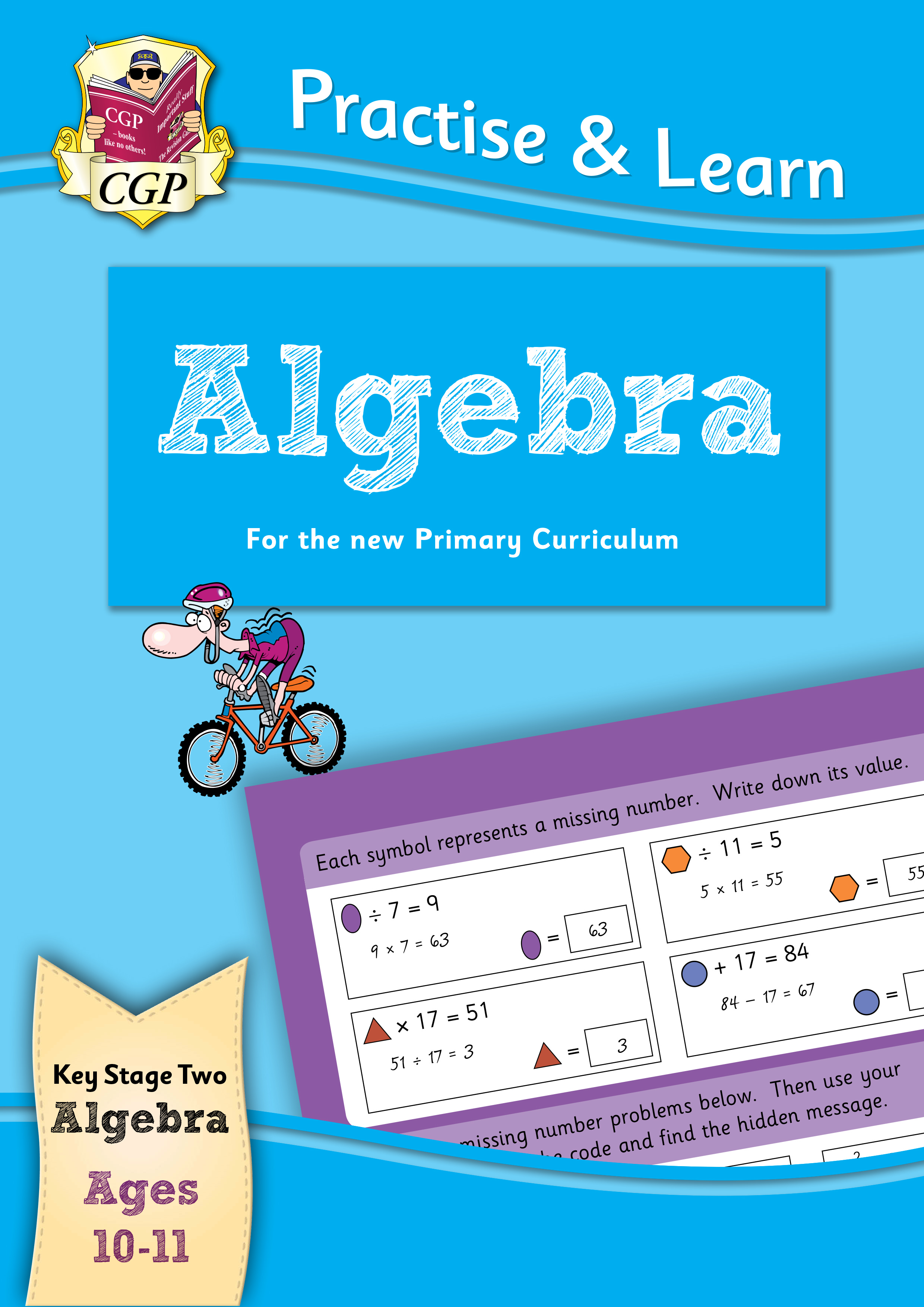 MP6AL22DK - New Curriculum Practise & Learn: Algebra for Ages 10-11
