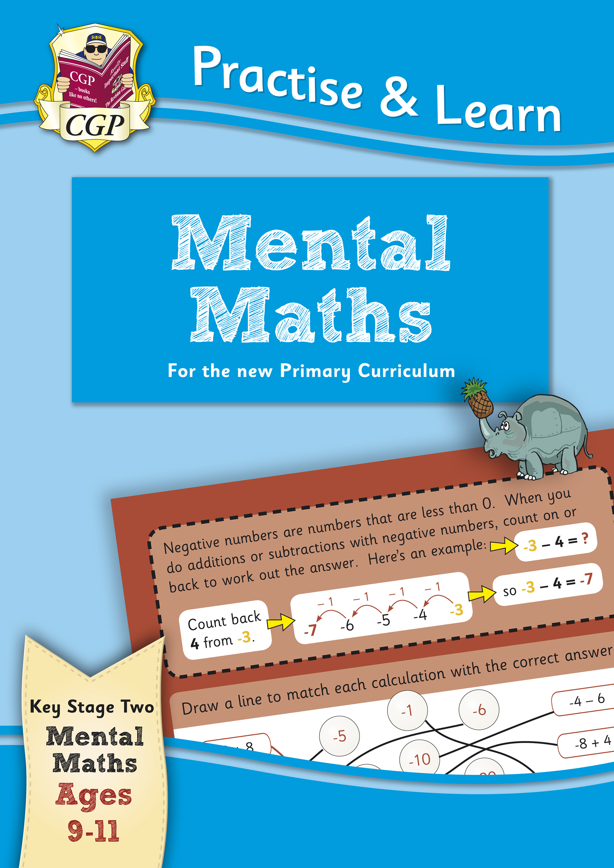 MP6MA22 - New Curriculum Practise & Learn: Mental Maths for Ages 9-11