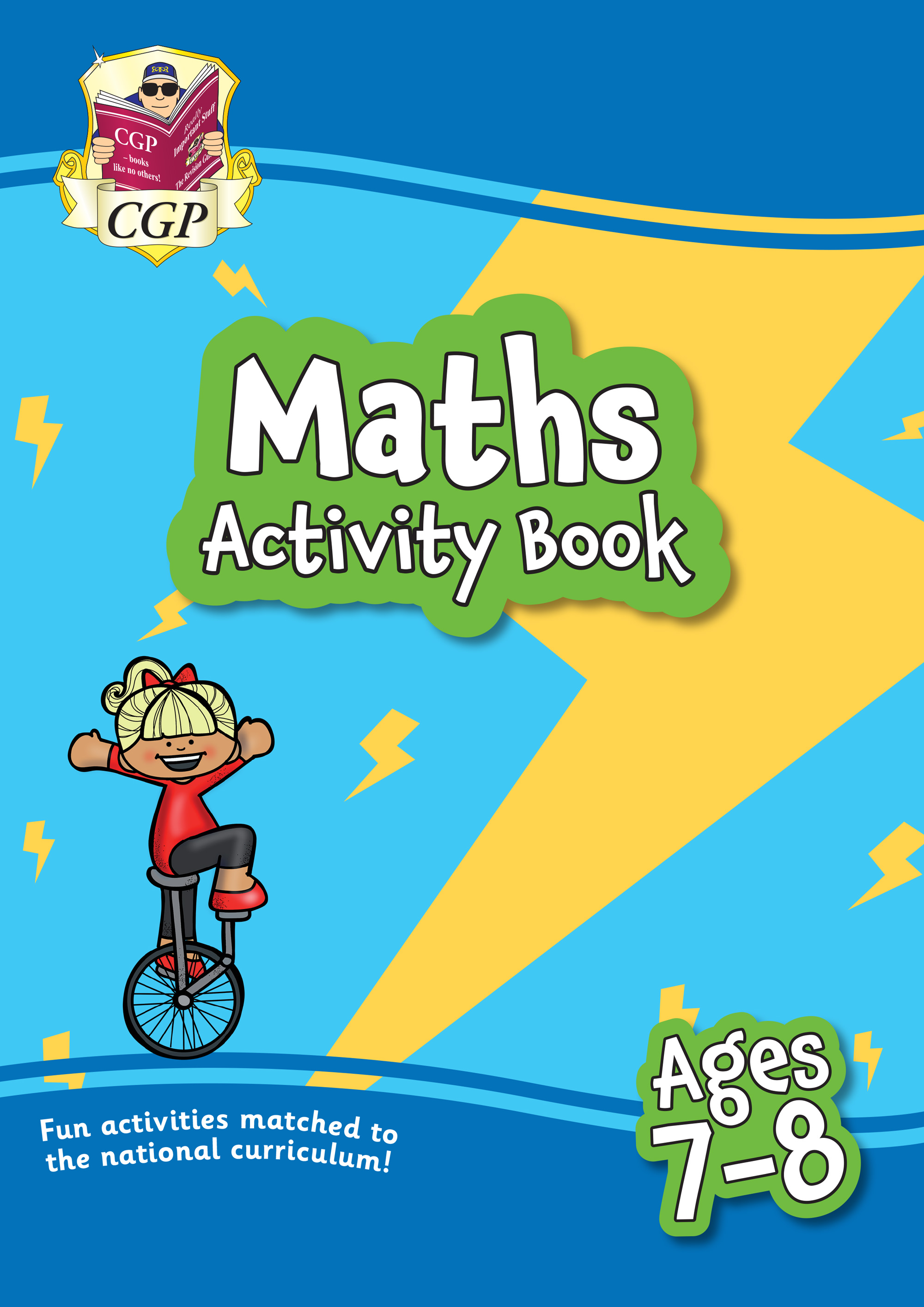MPF3Q21 - New Maths Home Learning Activity Book for Ages 7-8