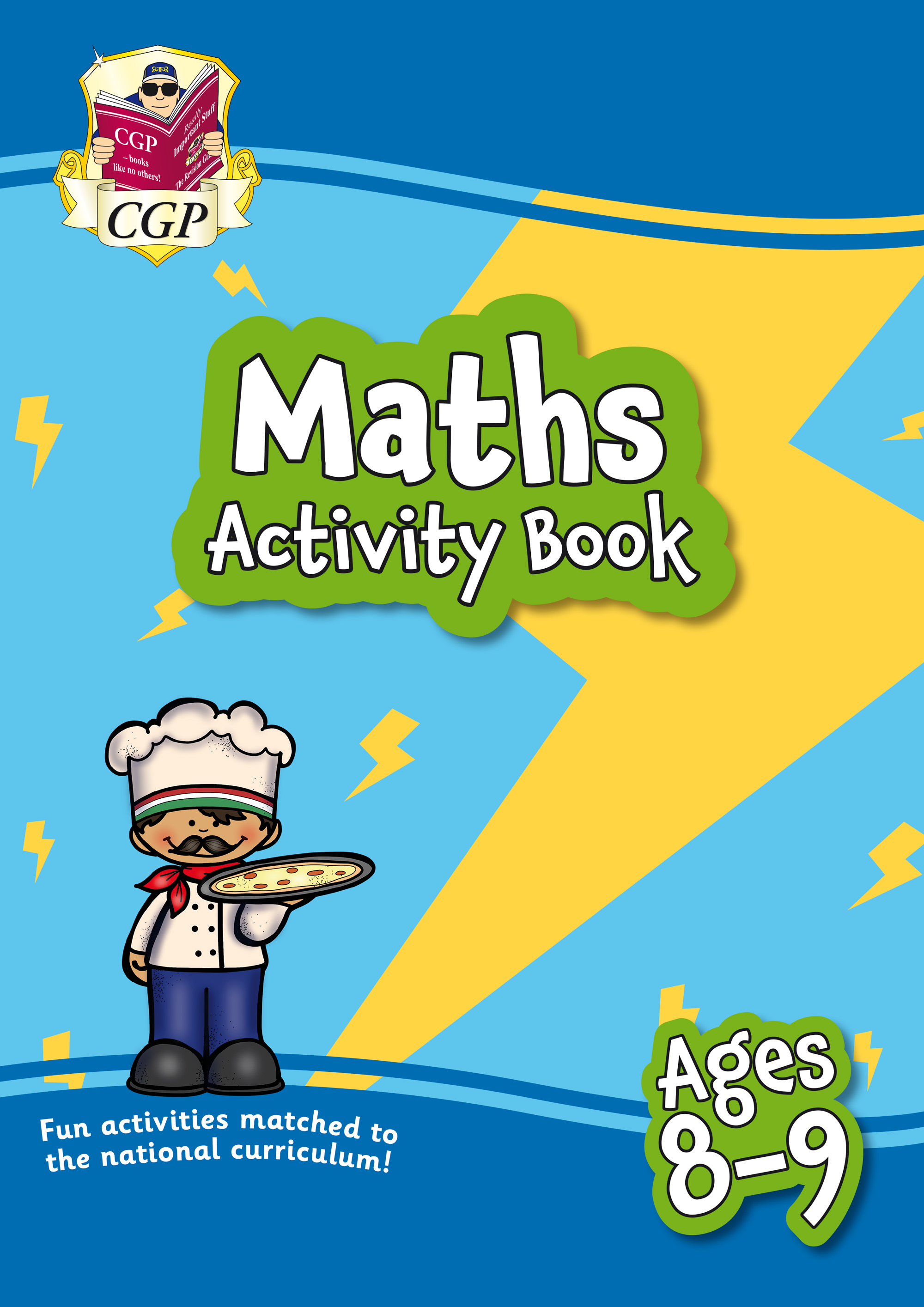 MPF4Q21 - New Maths Home Learning Activity Book for Ages 8-9