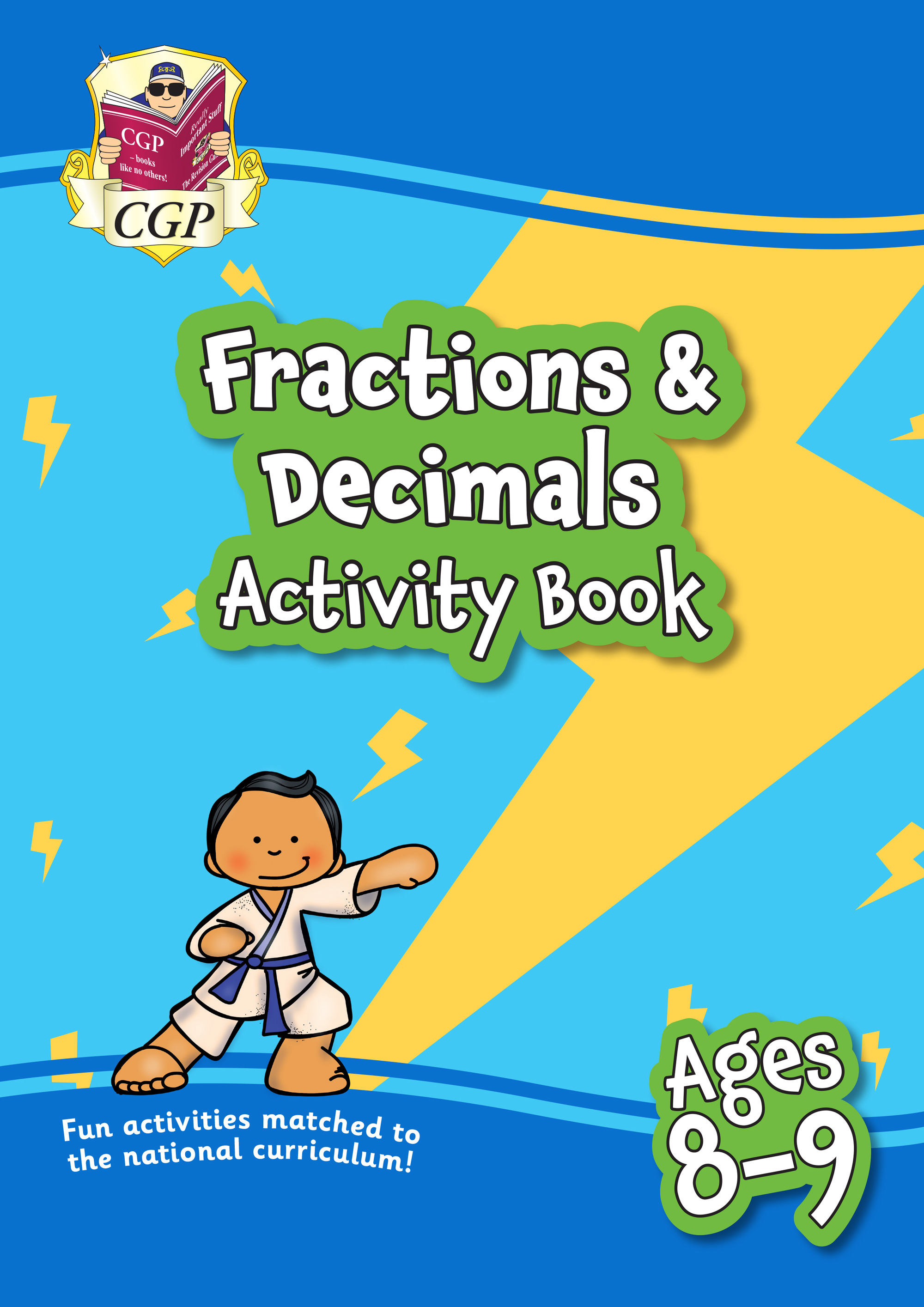 MPFFD4Q21 - New Fractions & Decimals Maths Activity Book for Ages 8-9: Perfect for Catch-Up and Home