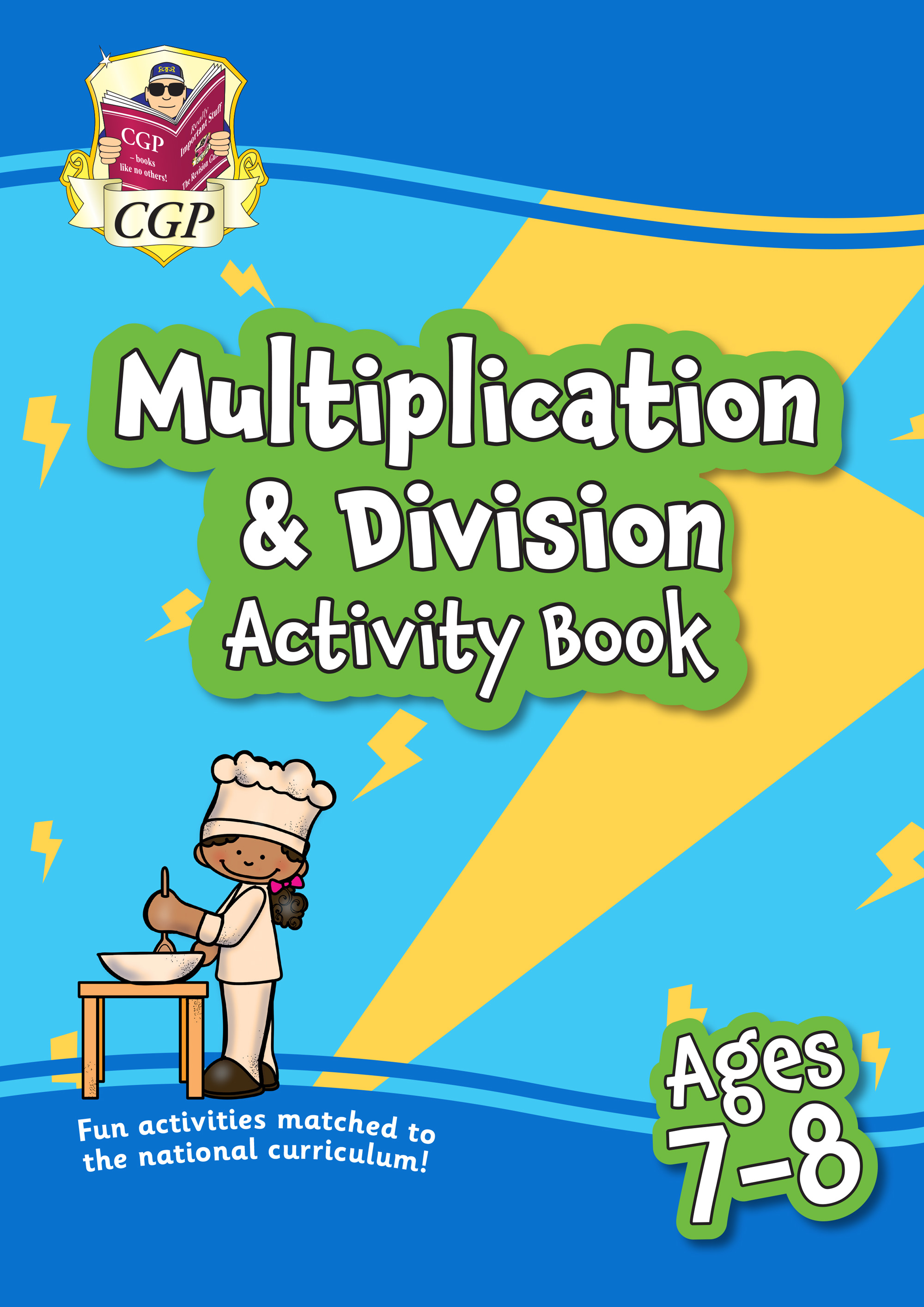 MPFMD3Q21 - New Multiplication & Division Home Learning Activity Book for Ages 7-8