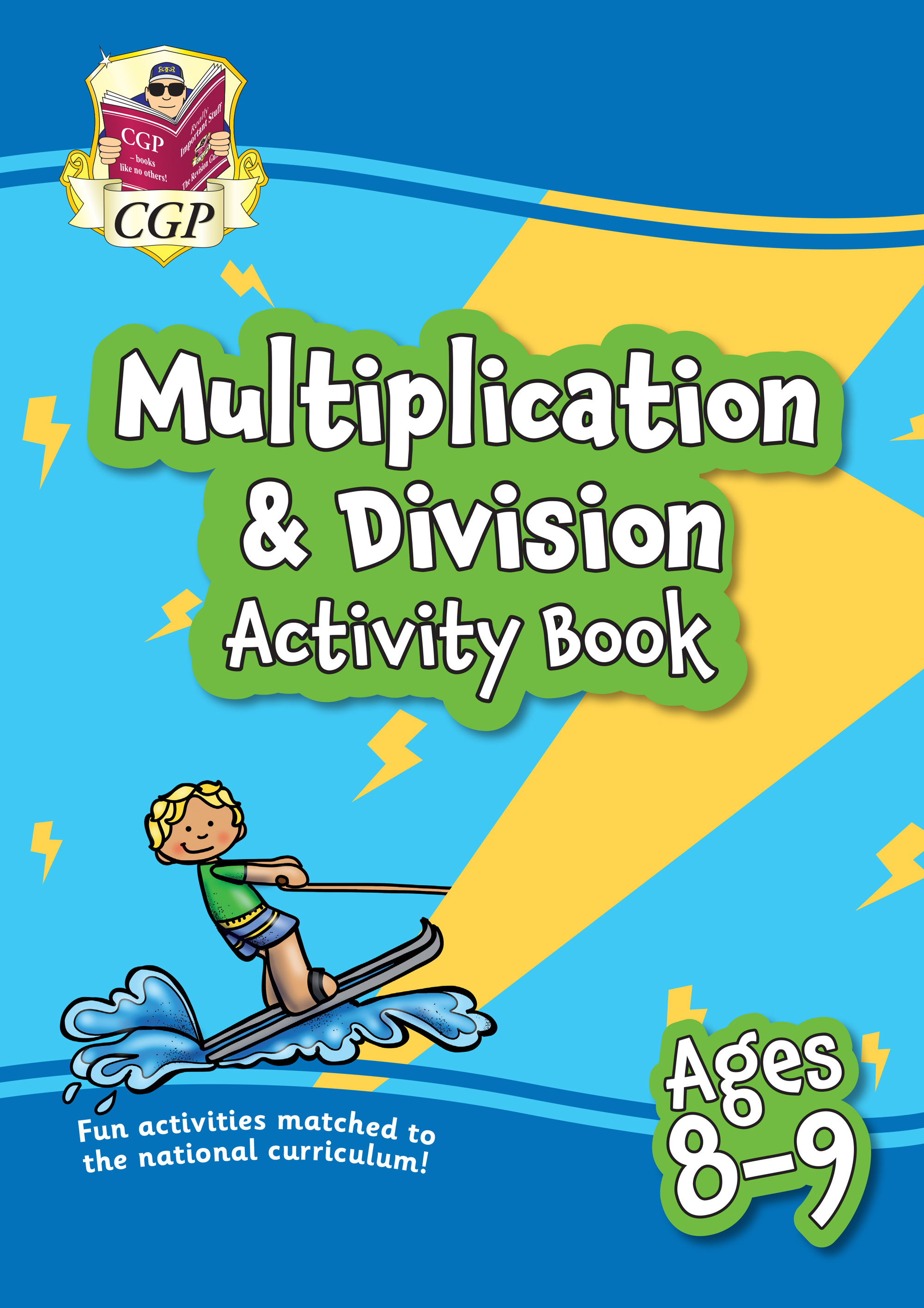 MPFMD4Q21 - New Multiplication & Division Activity Book for Ages 8-9: Perfect for Catch-Up and Home