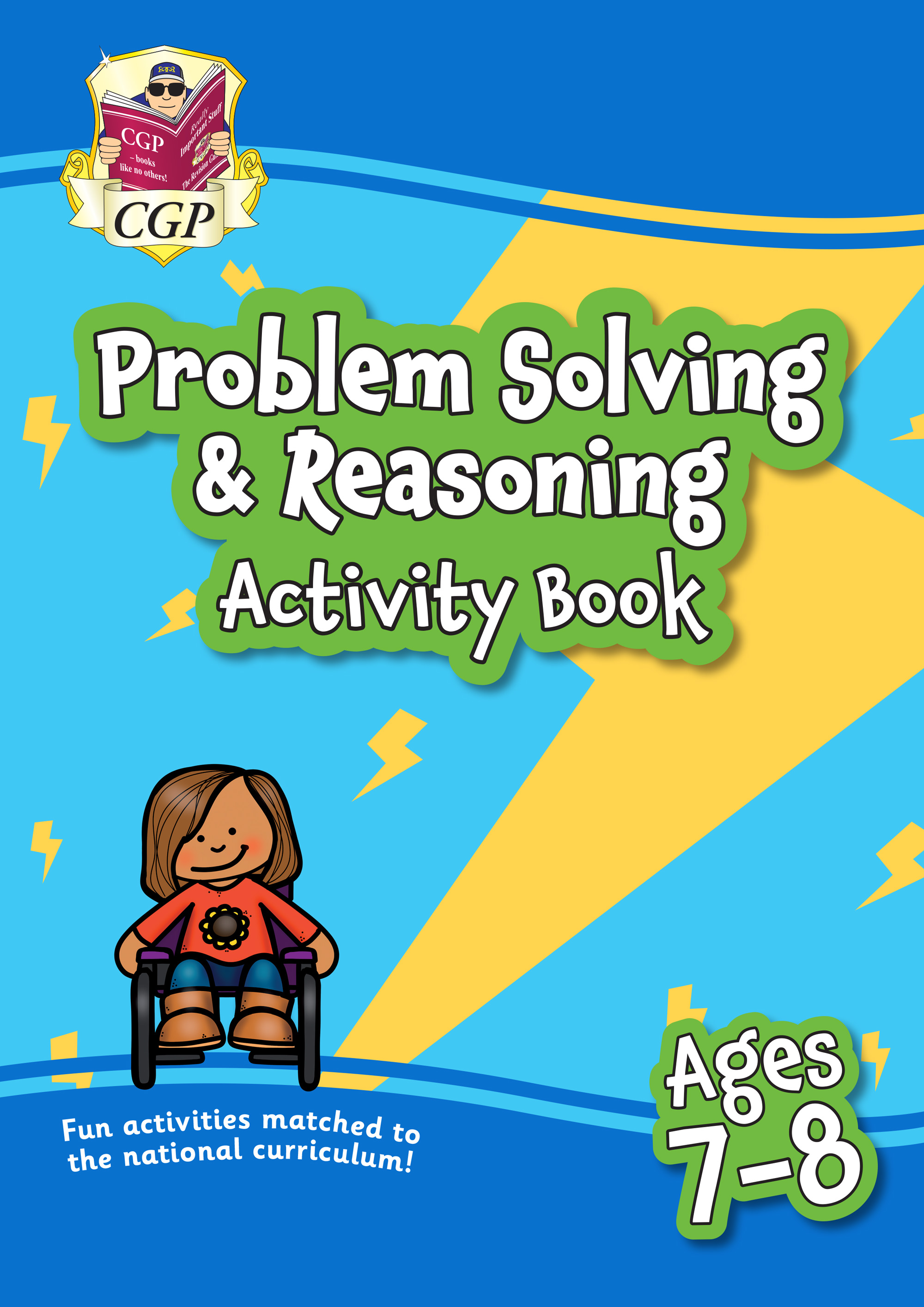MPFPS3Q21 - New Problem Solving & Reasoning Maths Activity Book for Ages 7-8: perfect for home learn