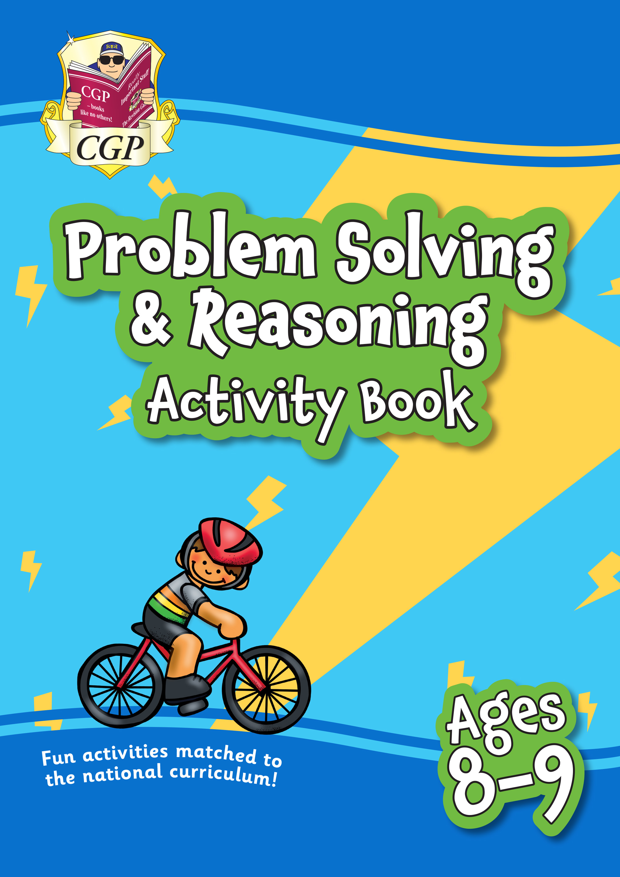 MPFPS4Q21 - New Problem Solving & Reasoning Maths Activity Book Ages 8-9: Perfect for Catch-Up & Hom