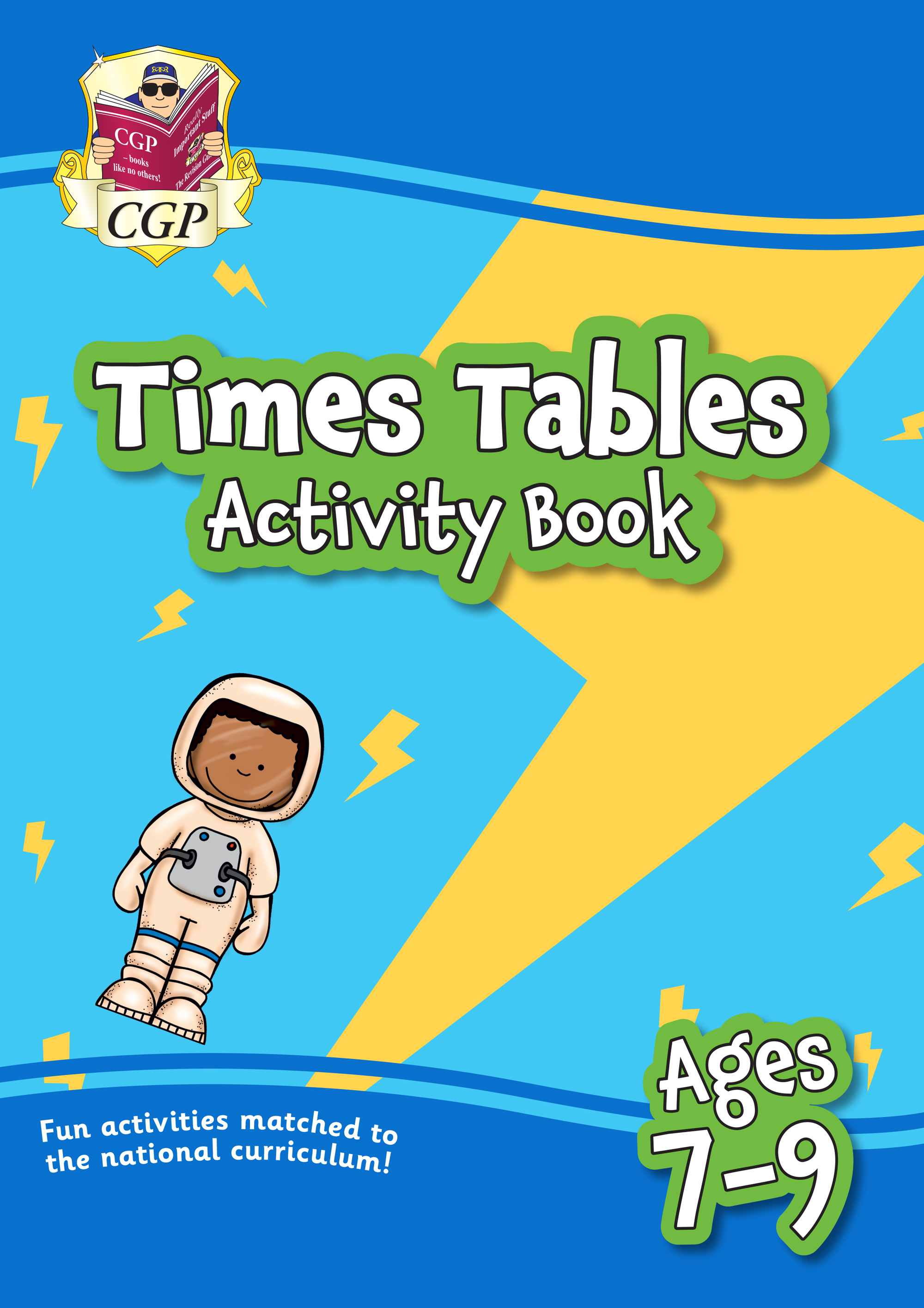 MPFTT21 - New Times Tables Home Learning Activity Book for Ages 7-9