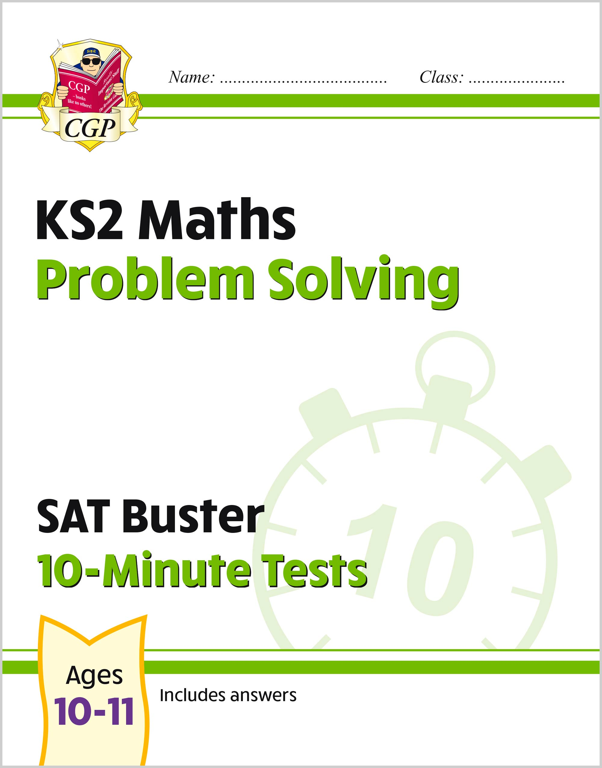 MPSXP21 - New KS2 Maths SAT Buster 10-Minute Tests - Problem Solving (for the 2020 tests)