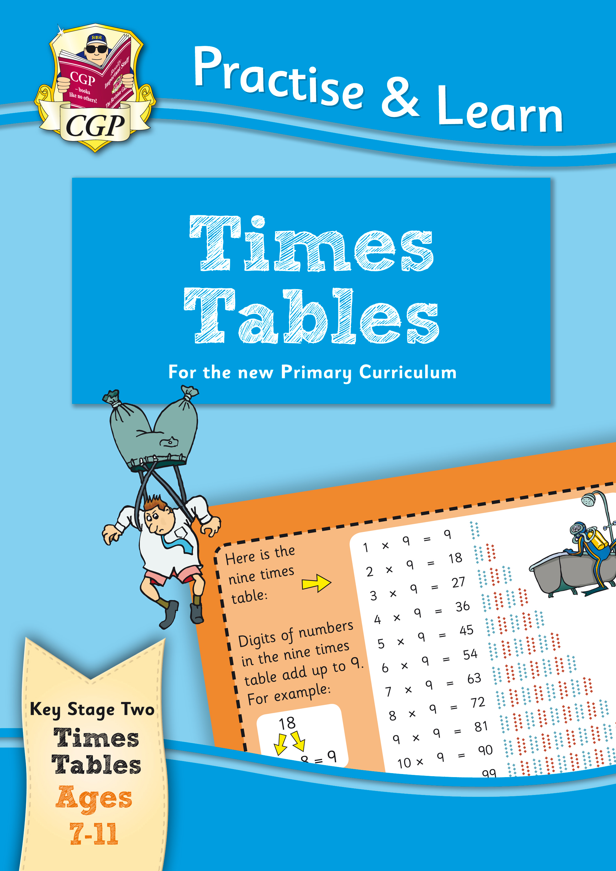 MPTT22 - New Curriculum Practise & Learn: Times Tables for Ages 7-11